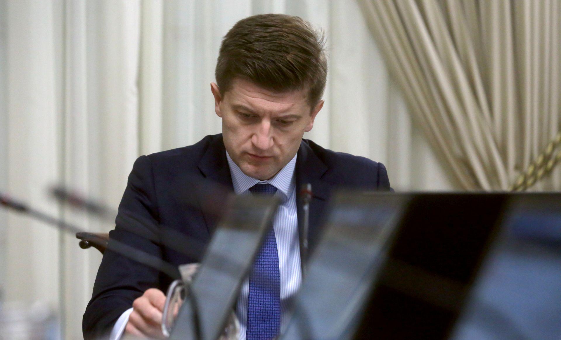 Marić u petak na Vladi predlaže proračun za 2019.