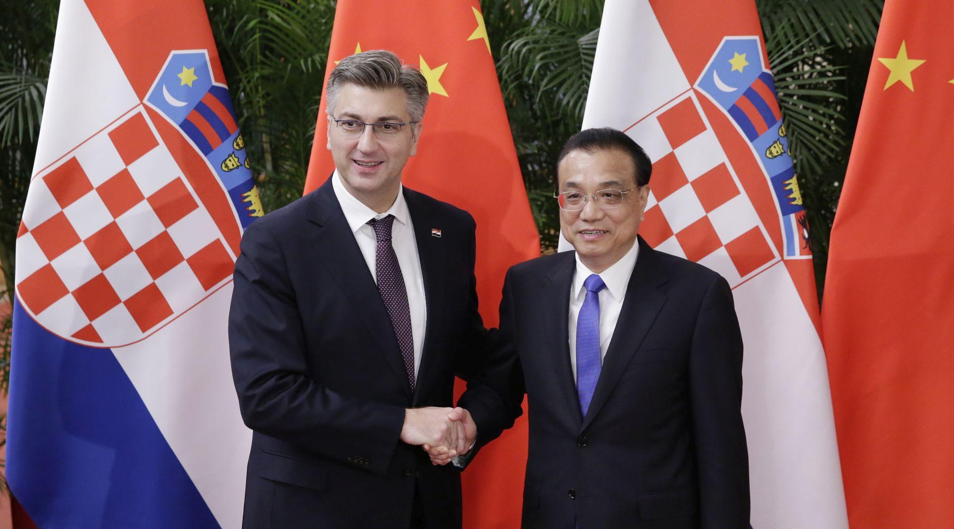 """PLENKOVIĆ """"Kina pokazuje zanimanje za ulaganja u RH"""""""