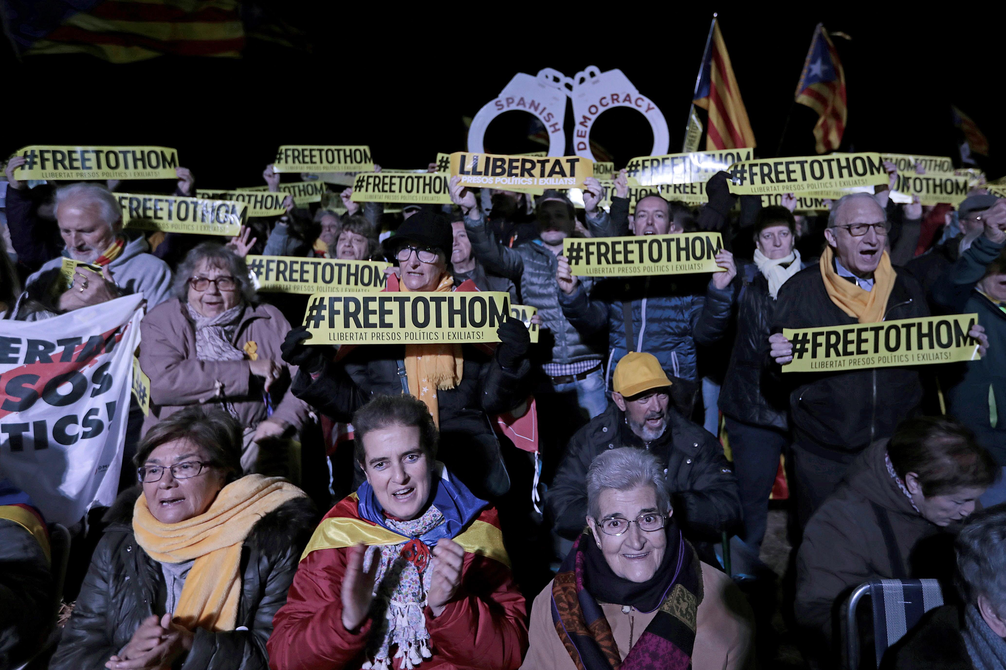 Zatvoreni katalonski vođa pozvao Španjolsku da izradi novi prijedlog za Kataloniju
