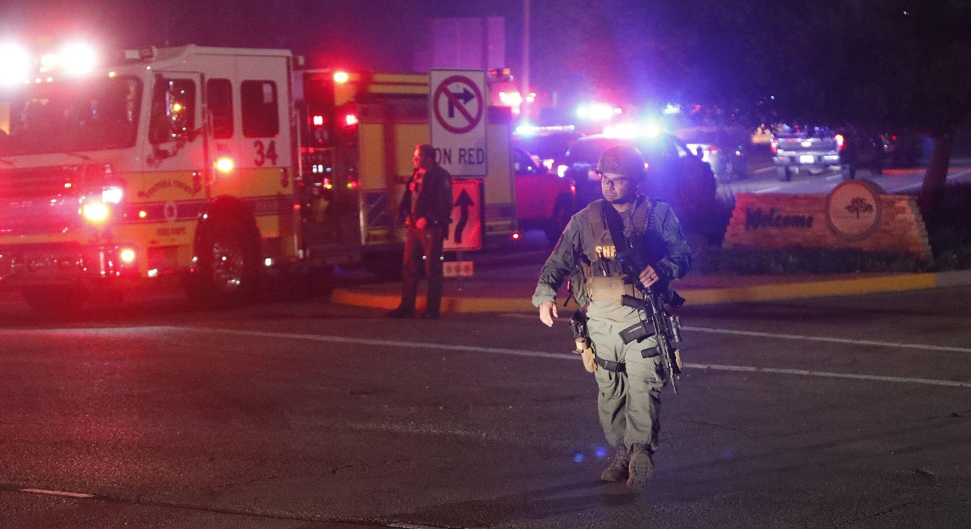 KALIFORNIJA Najmanje 12 mrtvih u pucnjavi u noćnom klubu