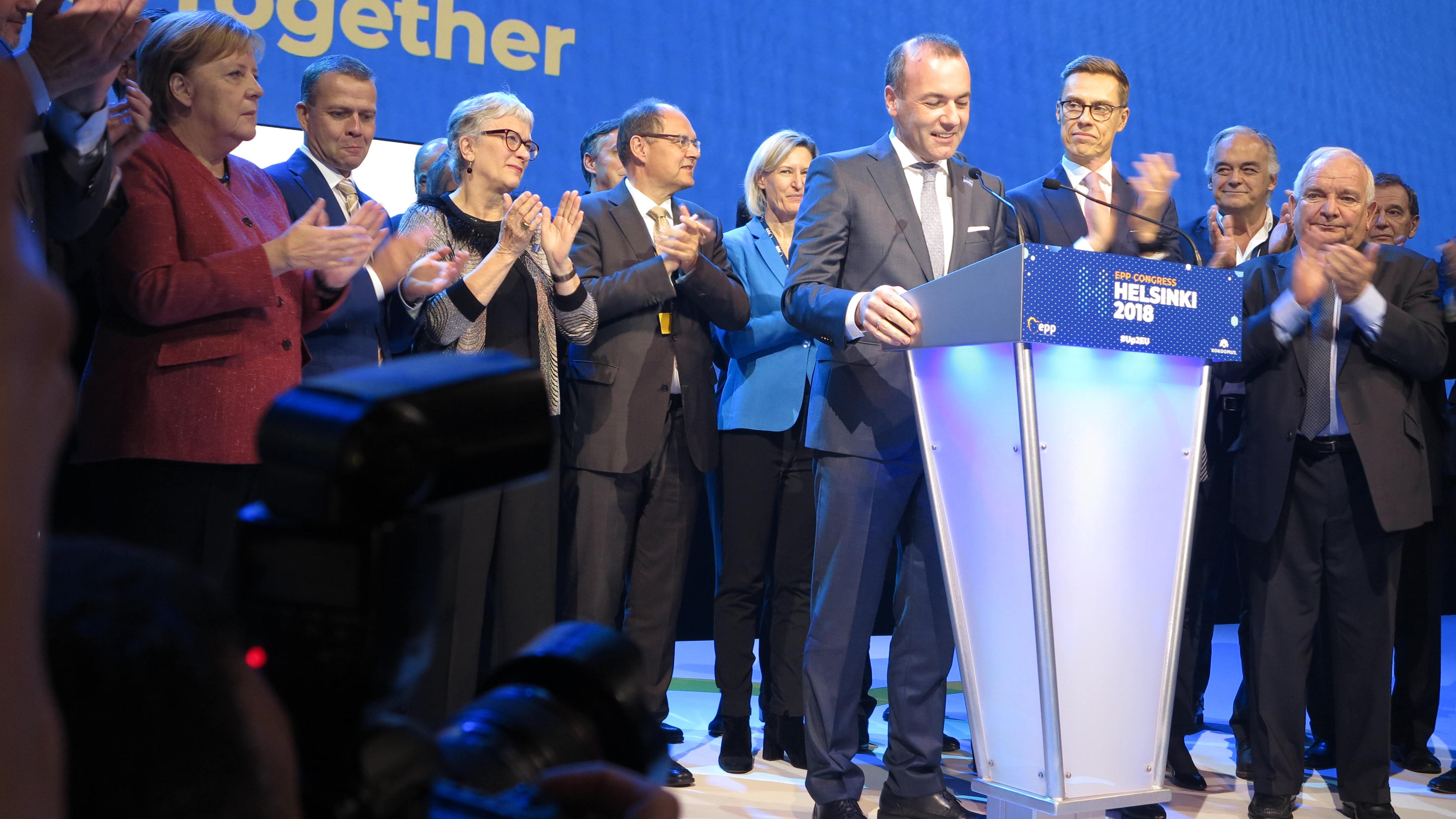 Weber izabran za 'spitzenkandidata' EPP-a