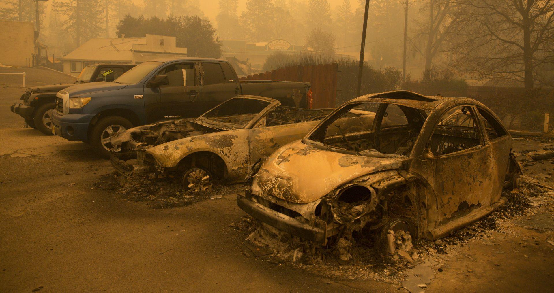 KALIFORNIJA Potvrđeno 63 poginulih, broj nestalih narastao na 630