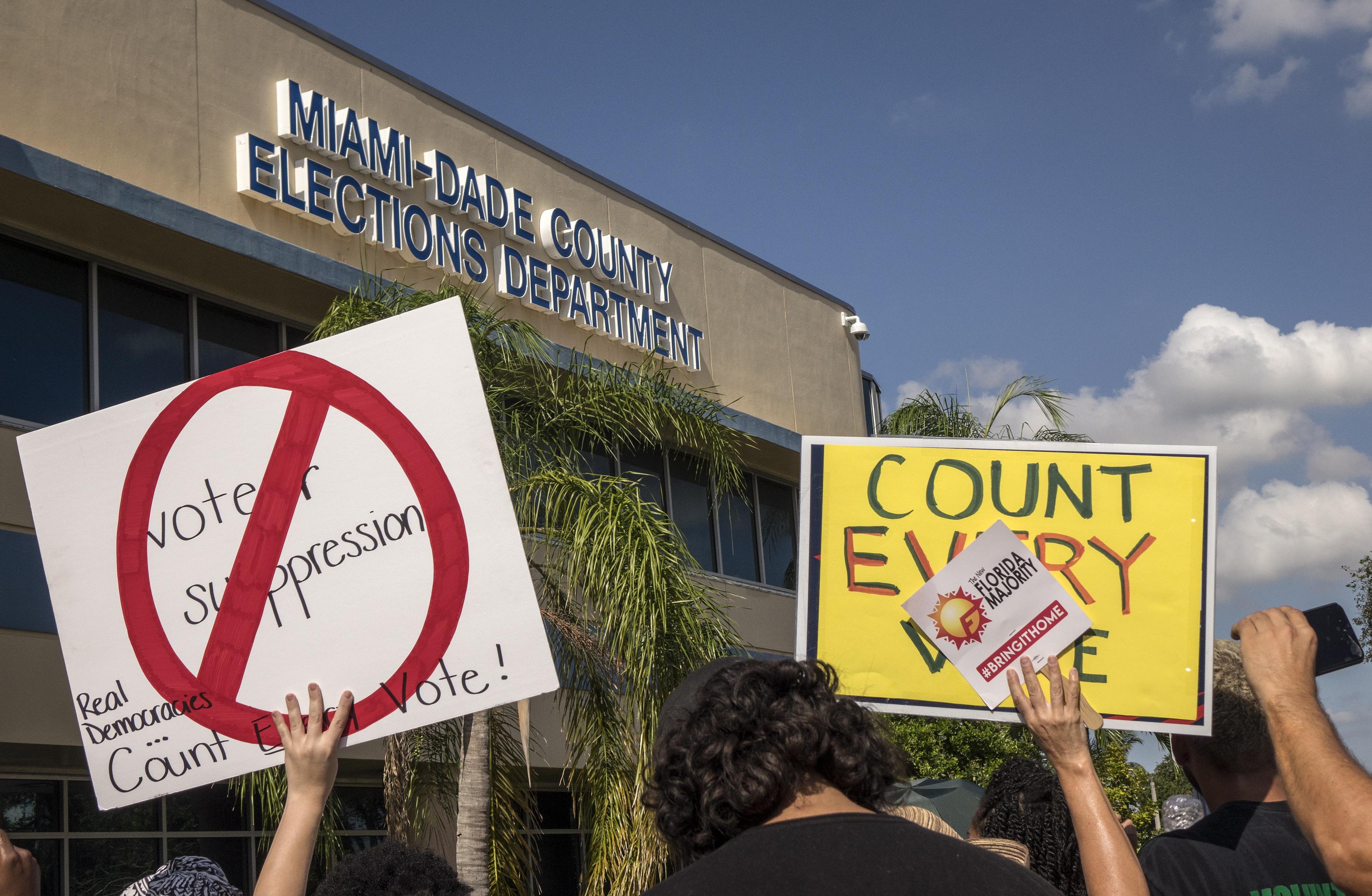 Florida naredila ponovno brojanje glasova na izborima za guvernera i senatora