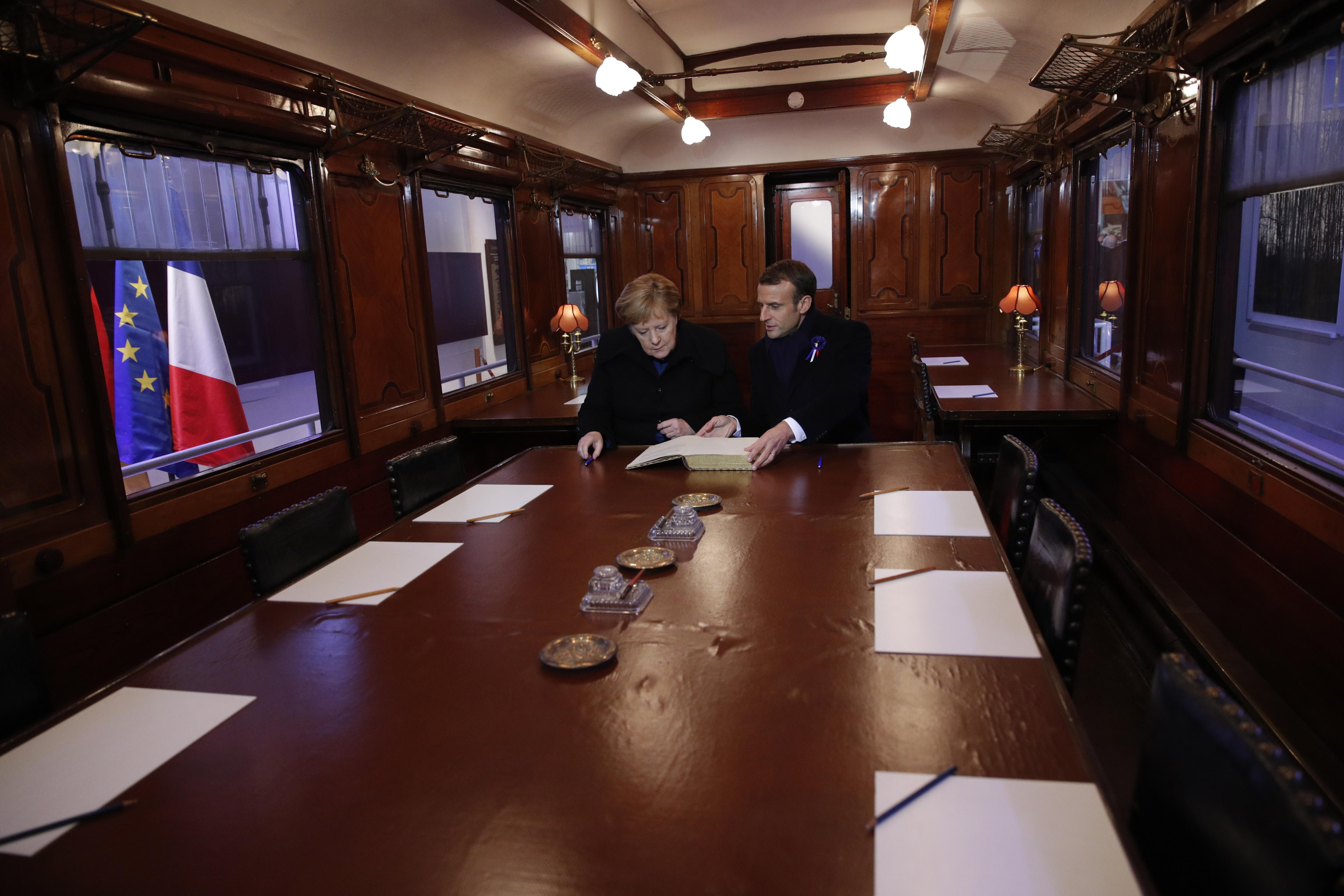 Macron i Merkel zajedno slave završetak Prvog svjetskog rata