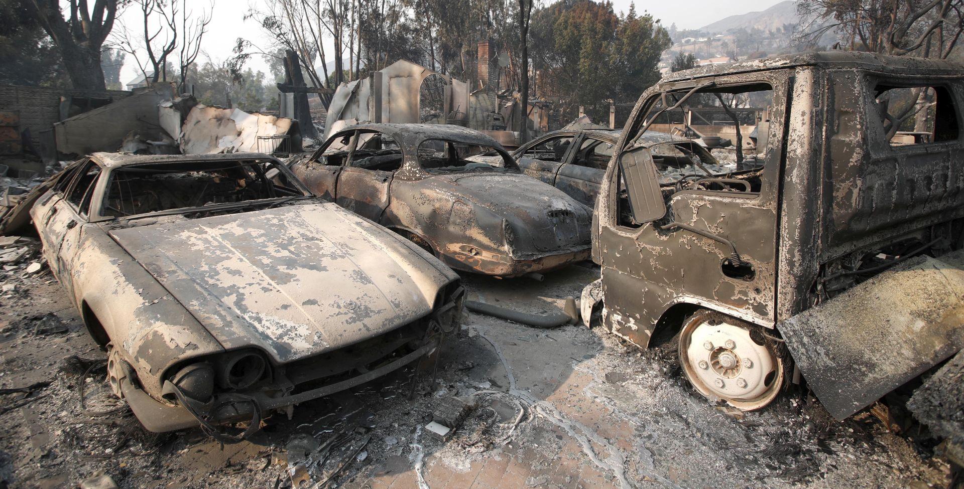 Broj poginulih u požarima u Kaliforniji porastao na 31