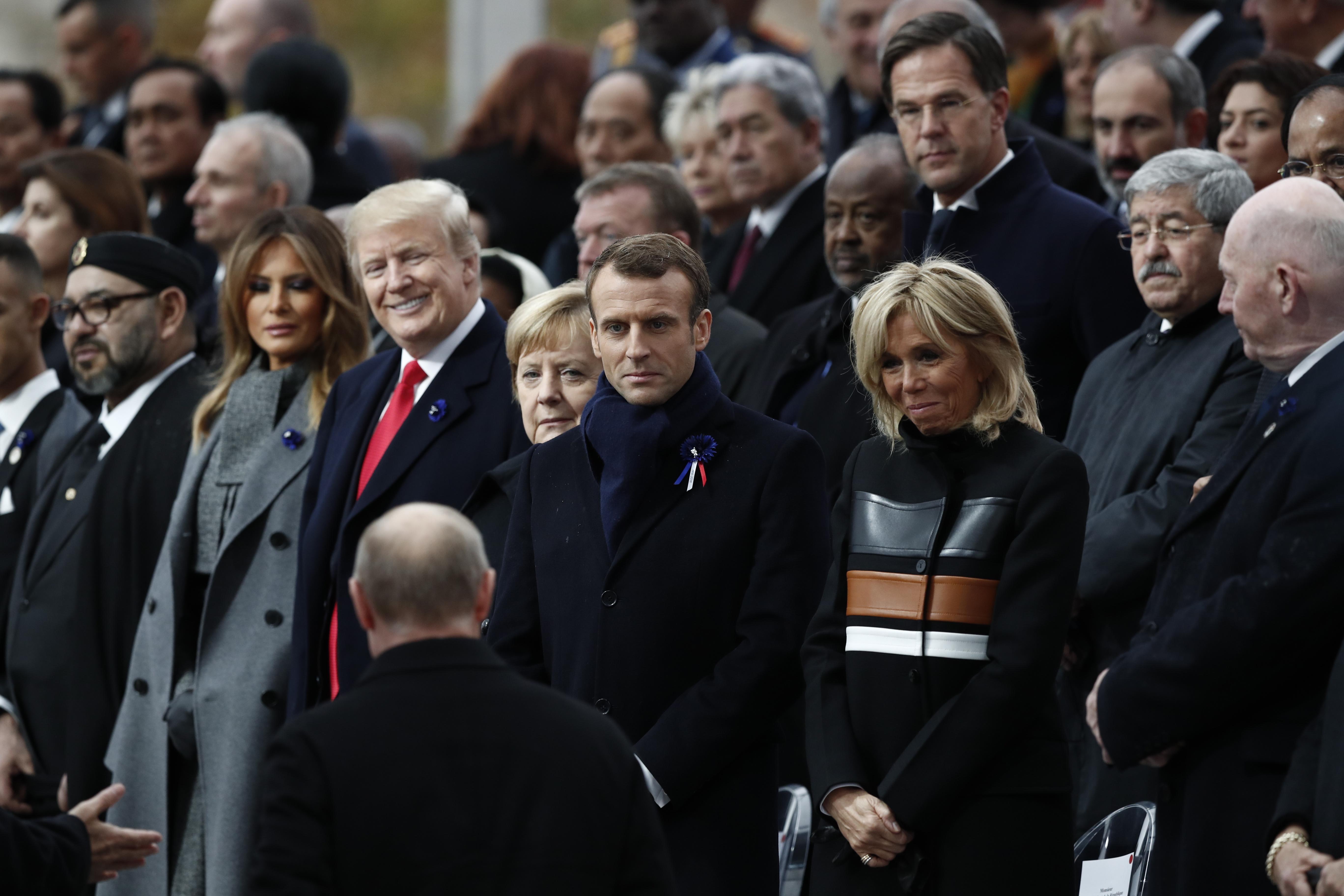 Trump i Putin na proslavu u Parizu došli odvojeno od drugih državnika