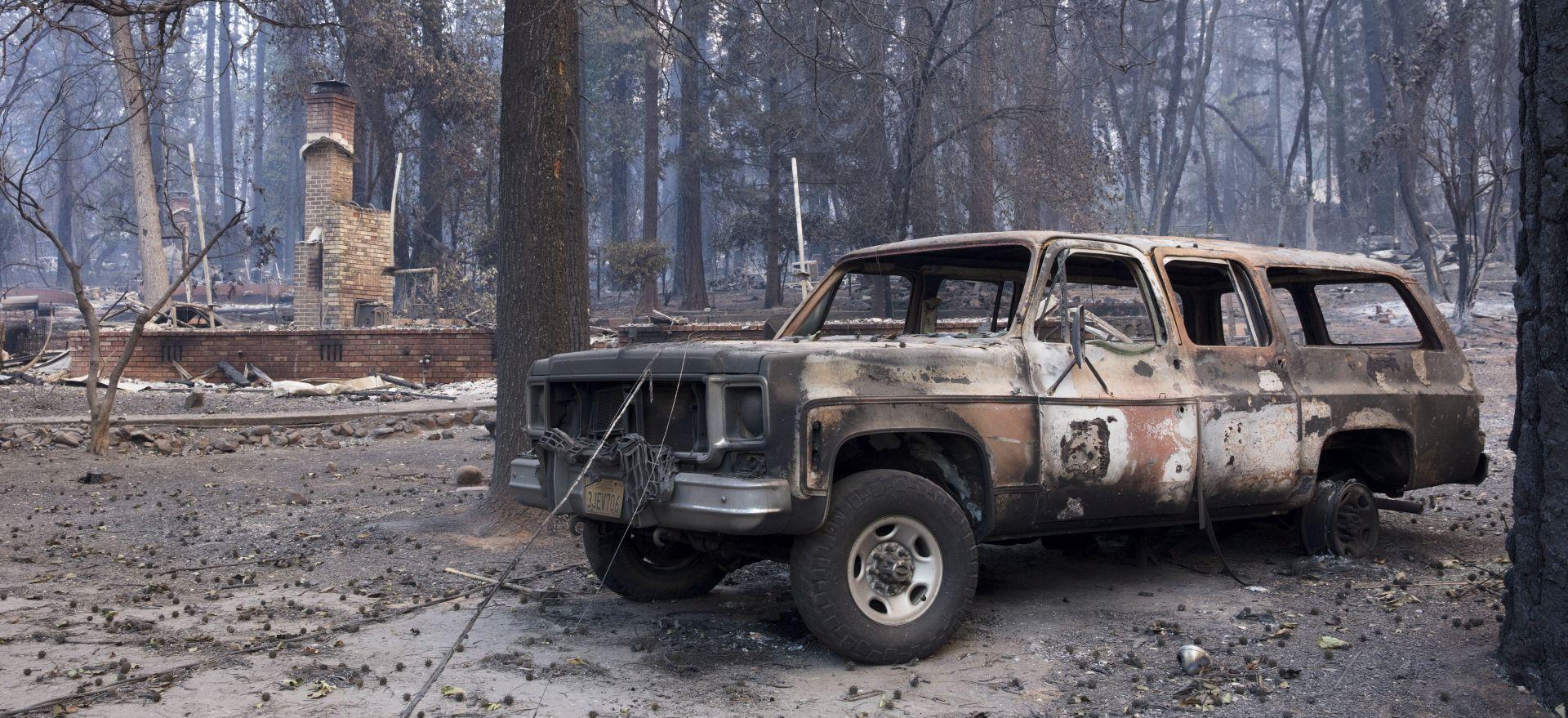 Požar i dalje hara Kalifornijom, najmanje 59 mrtvih