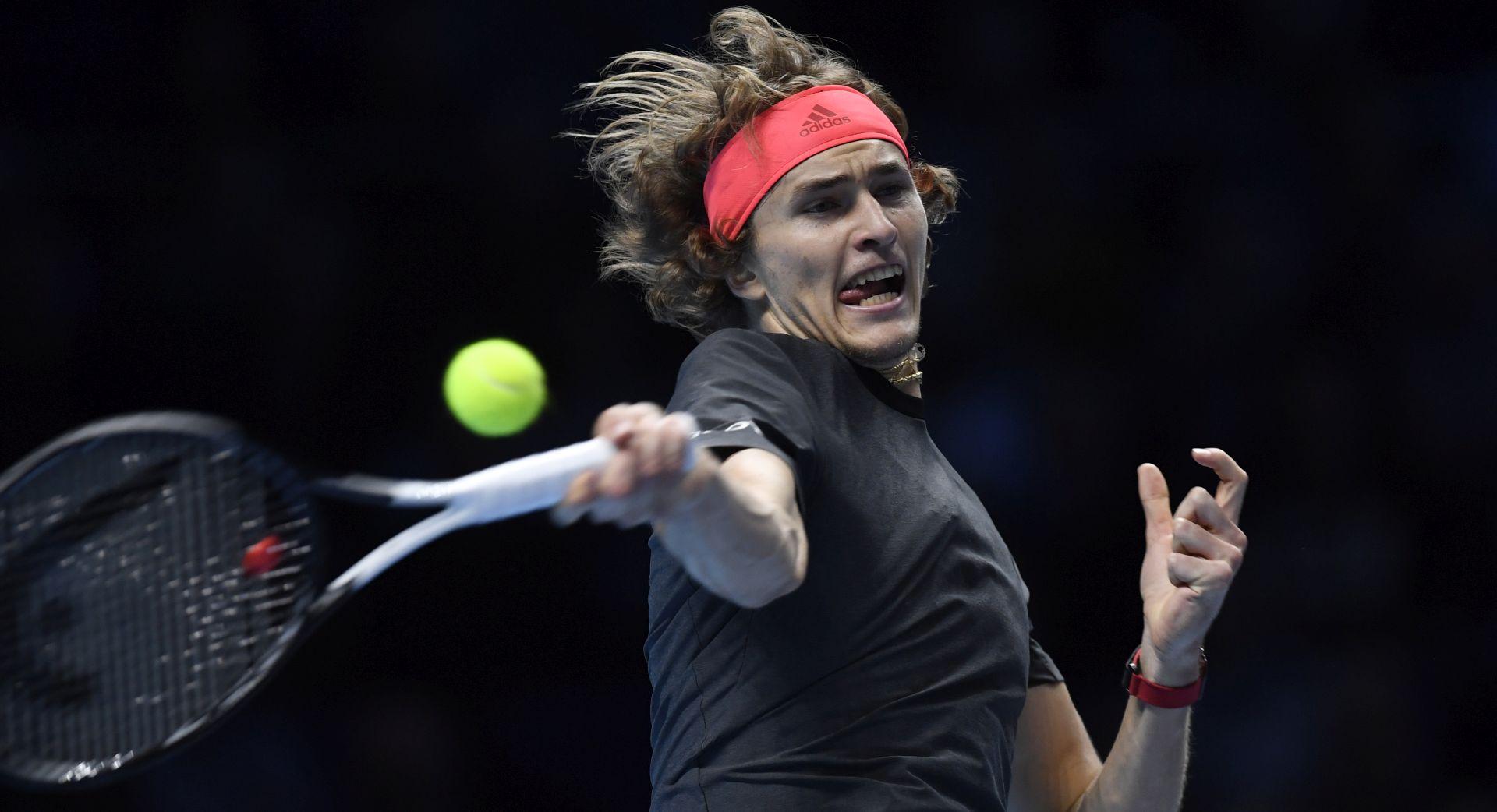ATP finale – Zverev uvjerljiv protiv Nadala