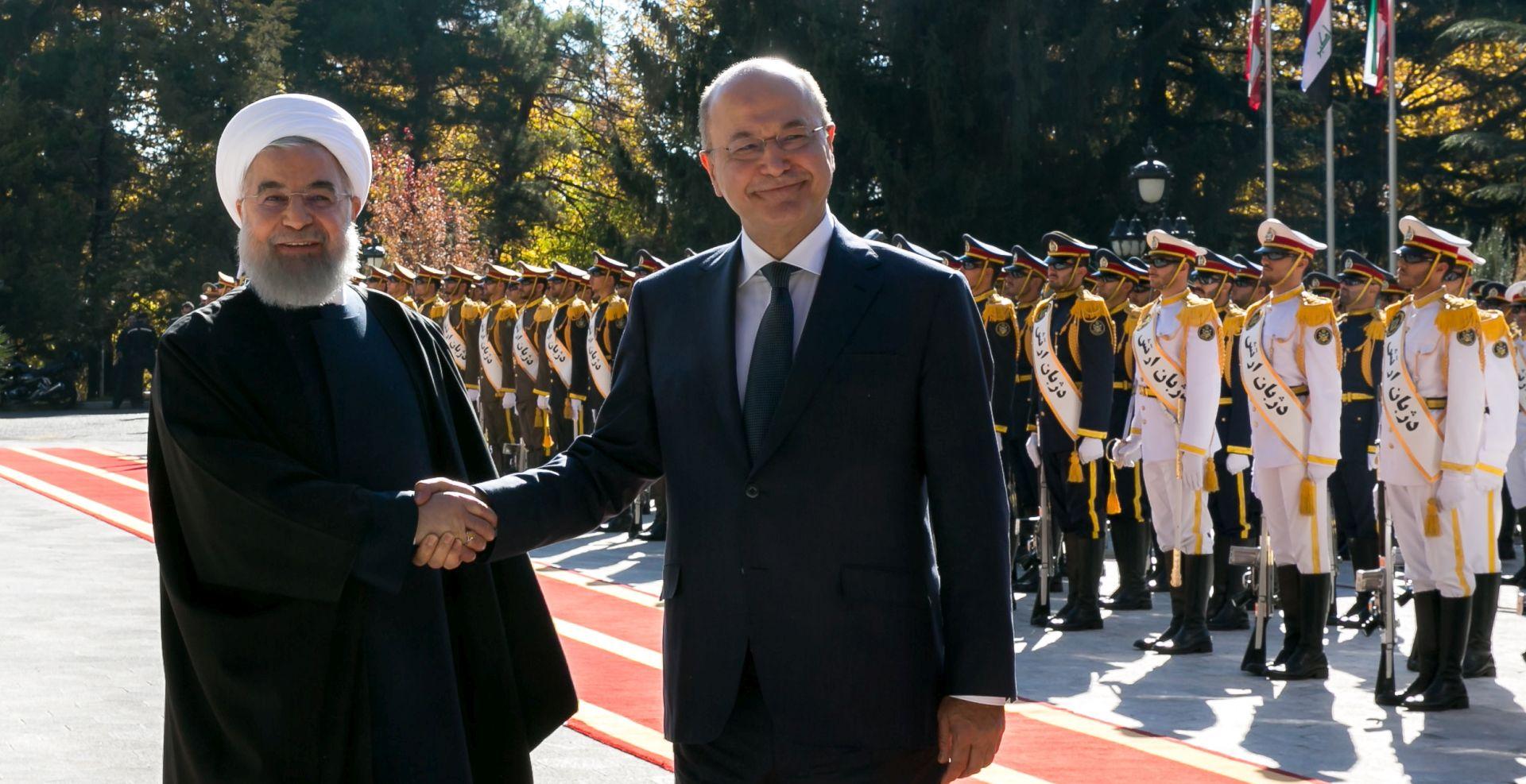 Prvi službeni posjet novog iračkog predsjednika Iranu
