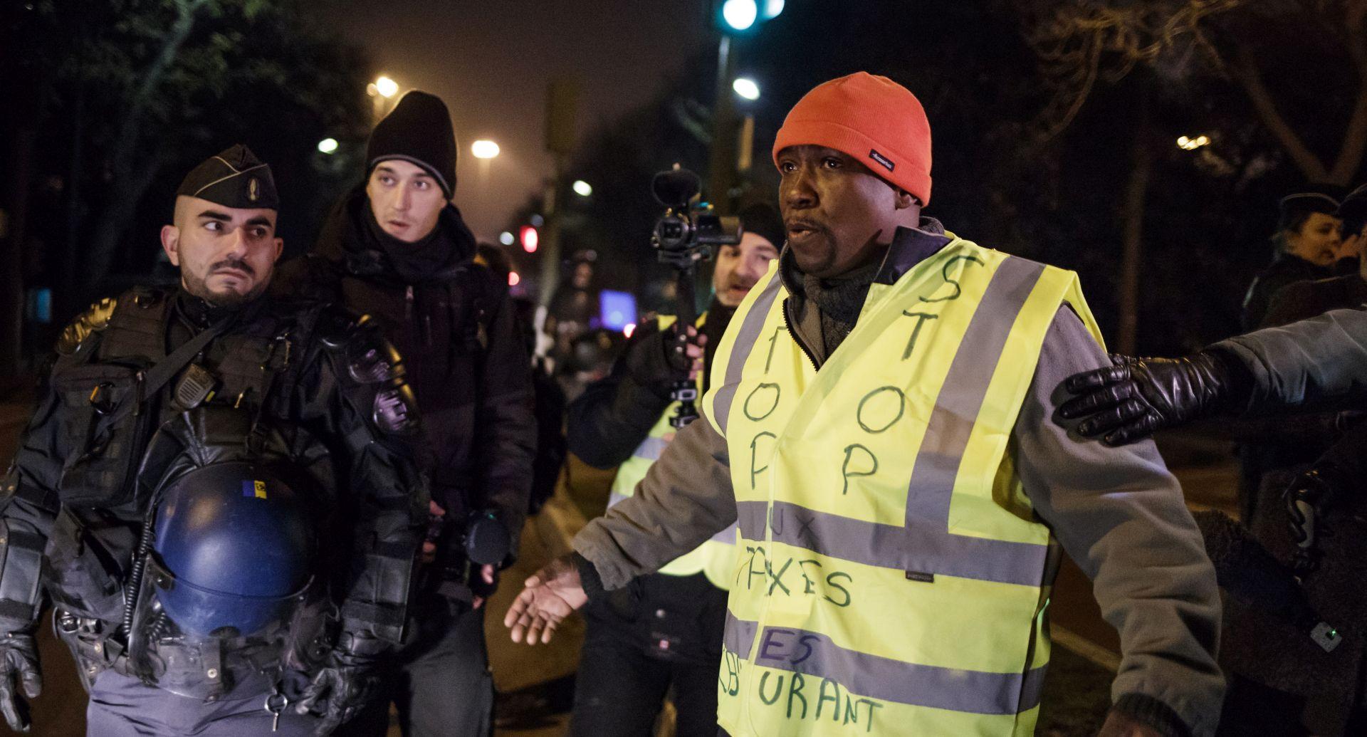 """Pokret """"žutih prsluka"""" protiv poskupljenja goriva i u Belgiji"""