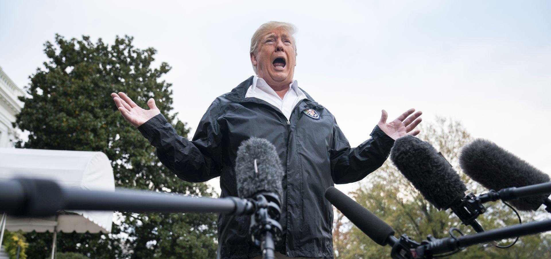 """Trump doputovao u Kaliforniju, istaknuo """"izvanrednu hrabrost"""" vatrogasaca"""
