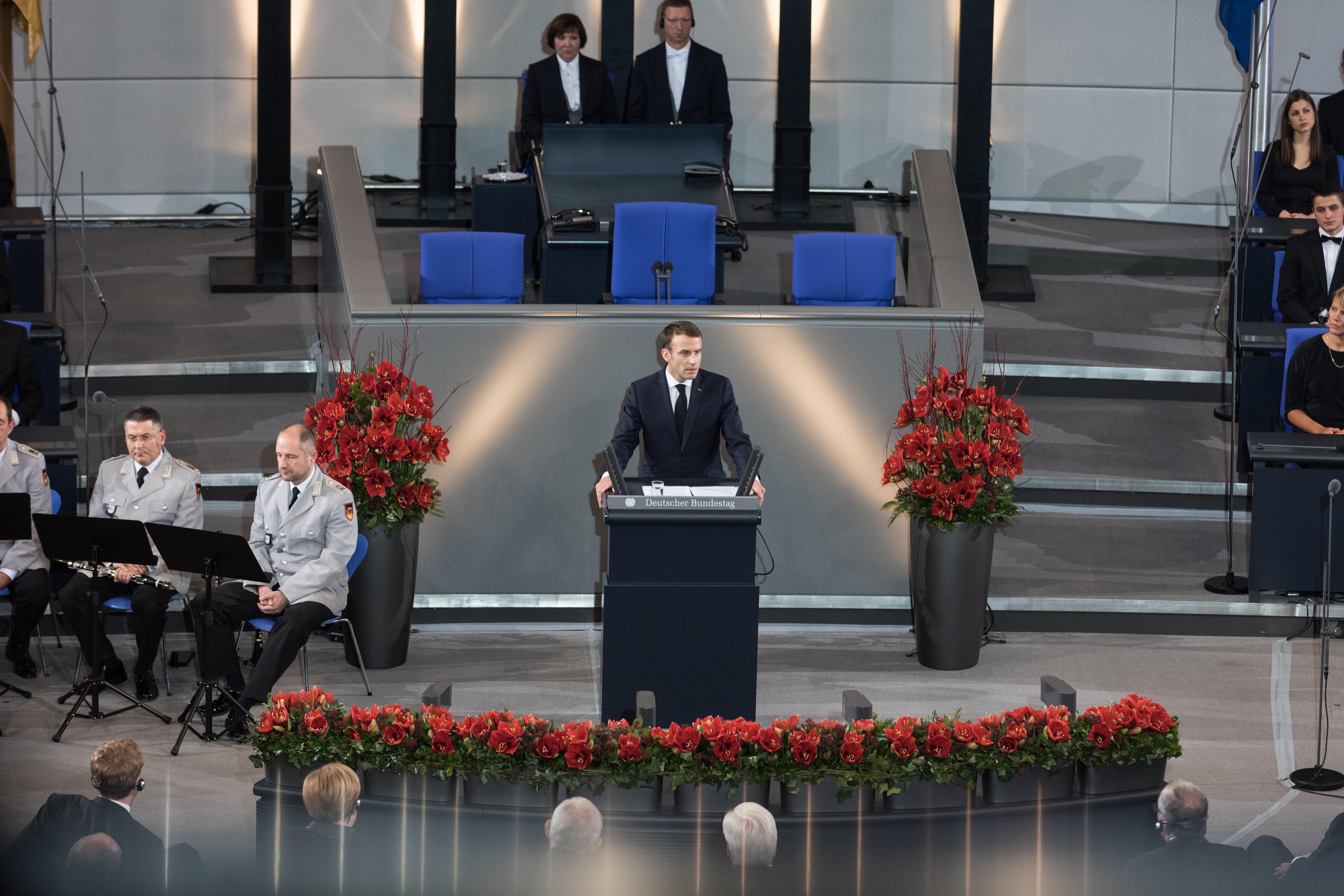 Macron u Bundestagu pozvao na jačanje Europe