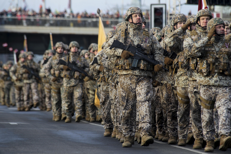 Latvija vojnom paradom obilježila neovisnost
