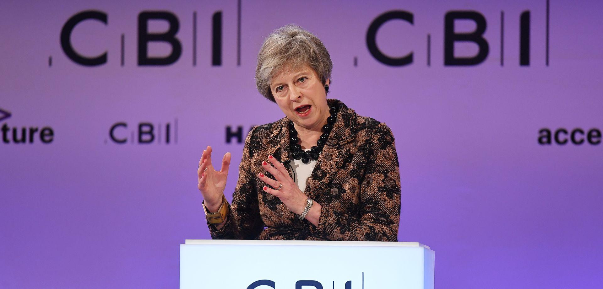 May danas u Bruxellesu želi riješiti sporne točke Brexita