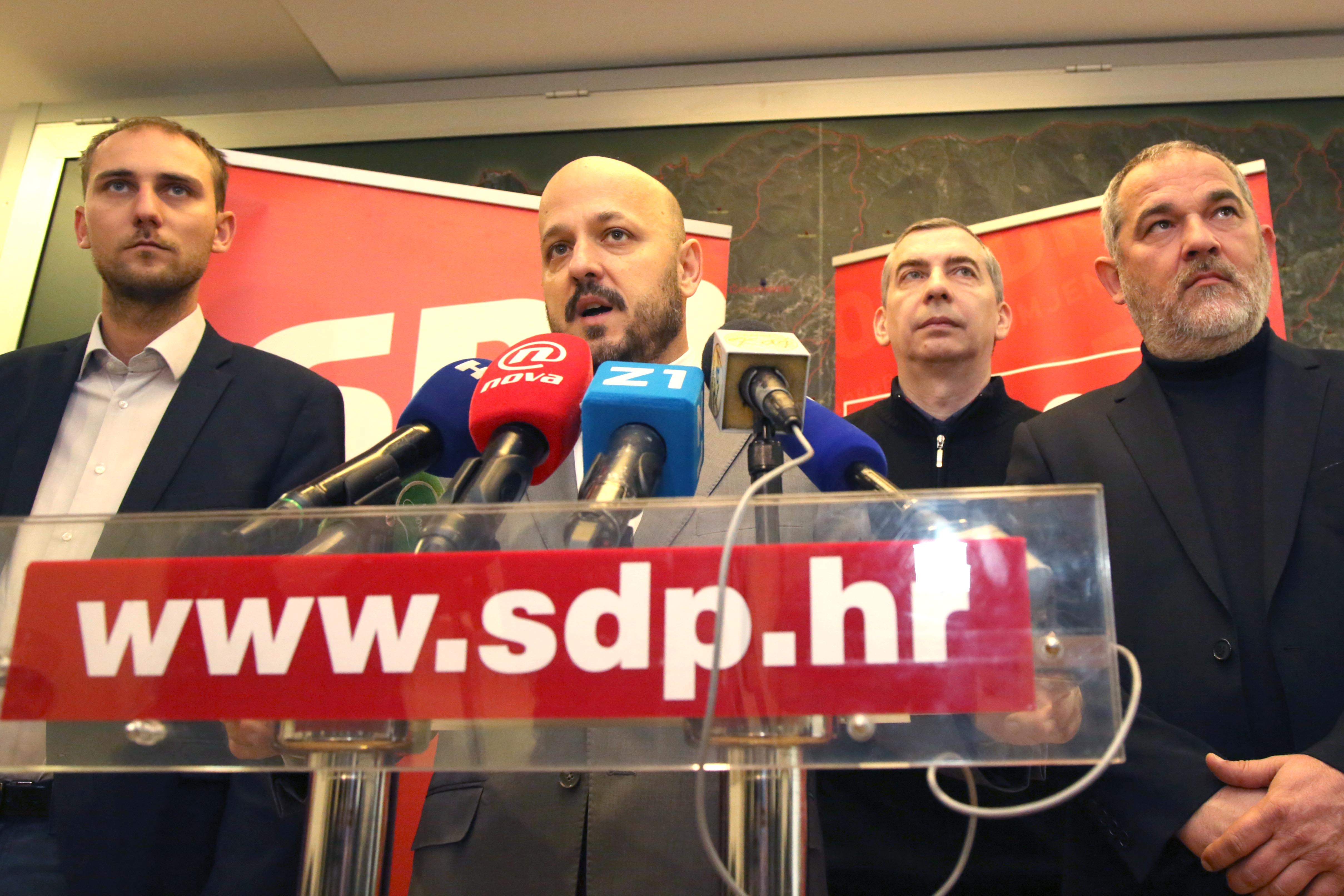 SDP, HSS i Naprijed Hrvatska neće poduprijeti zagrebački proračun, Bandić nema većinu