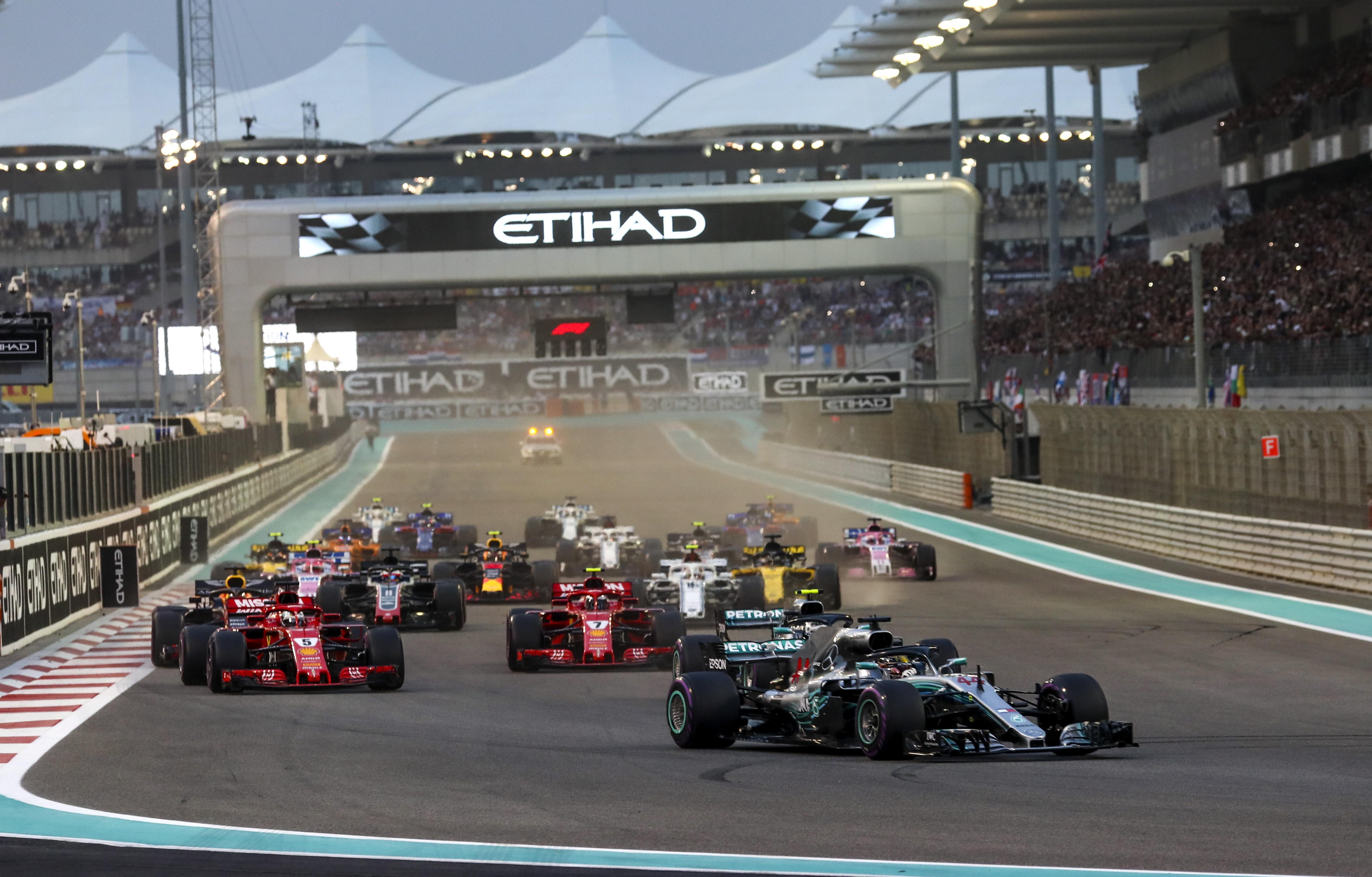 F1 Hamilton slavio i na zadnjoj utrci u Abu Dhabiju