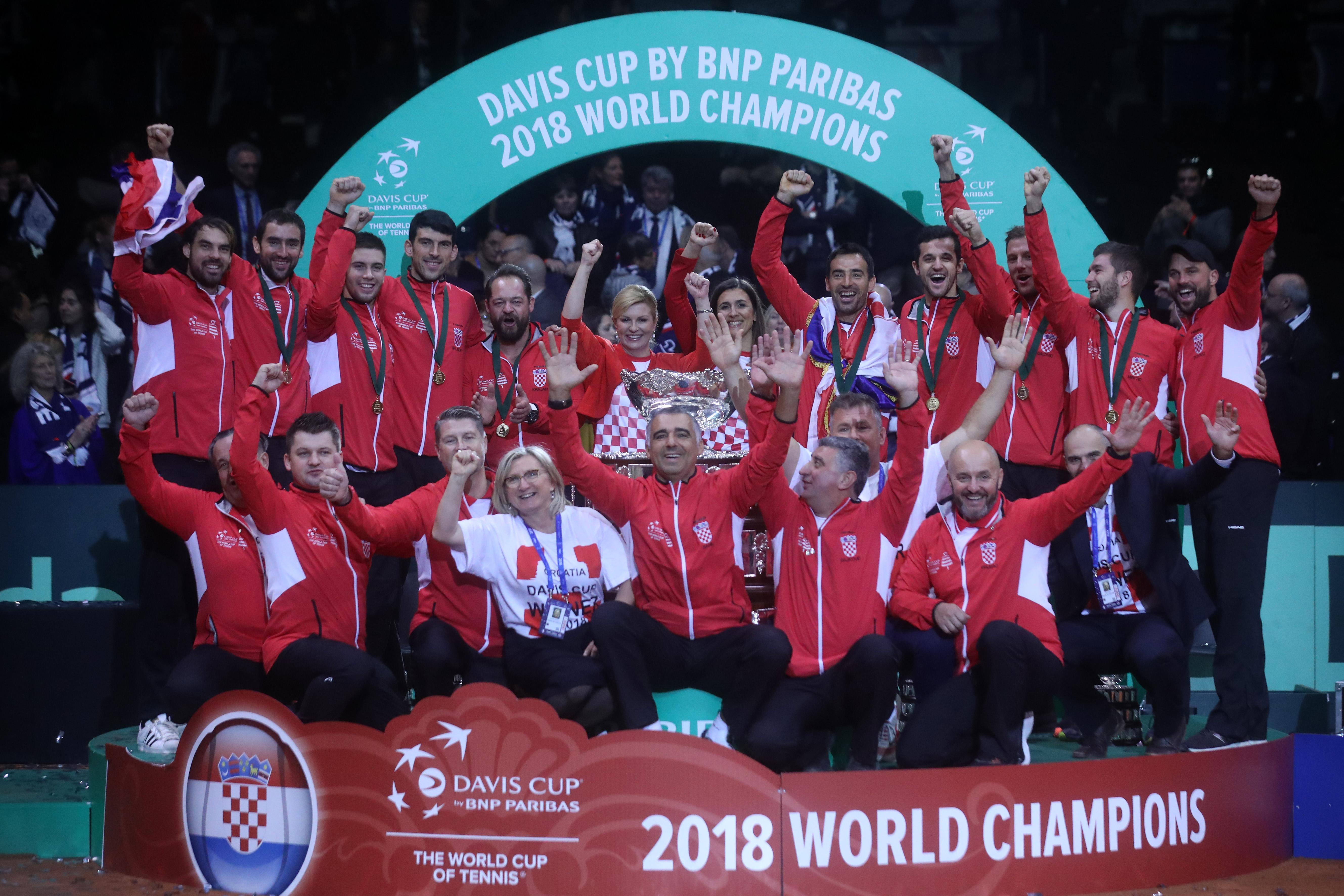 """Davis Cup reprezentacija među dobitnicima nagrade """"Franjo Bučar"""""""