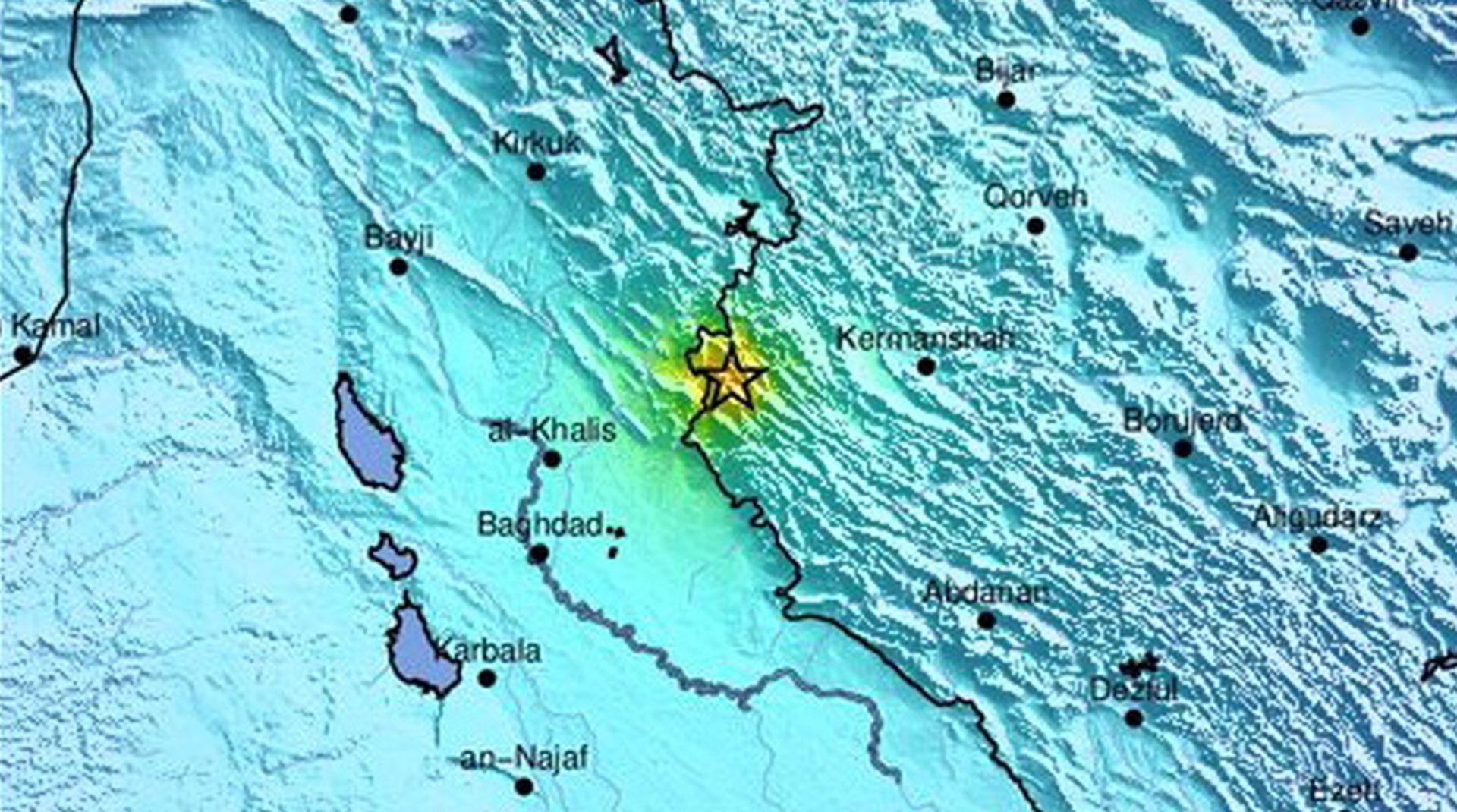 U potresu u Iranu više od 600 ozlijeđenih