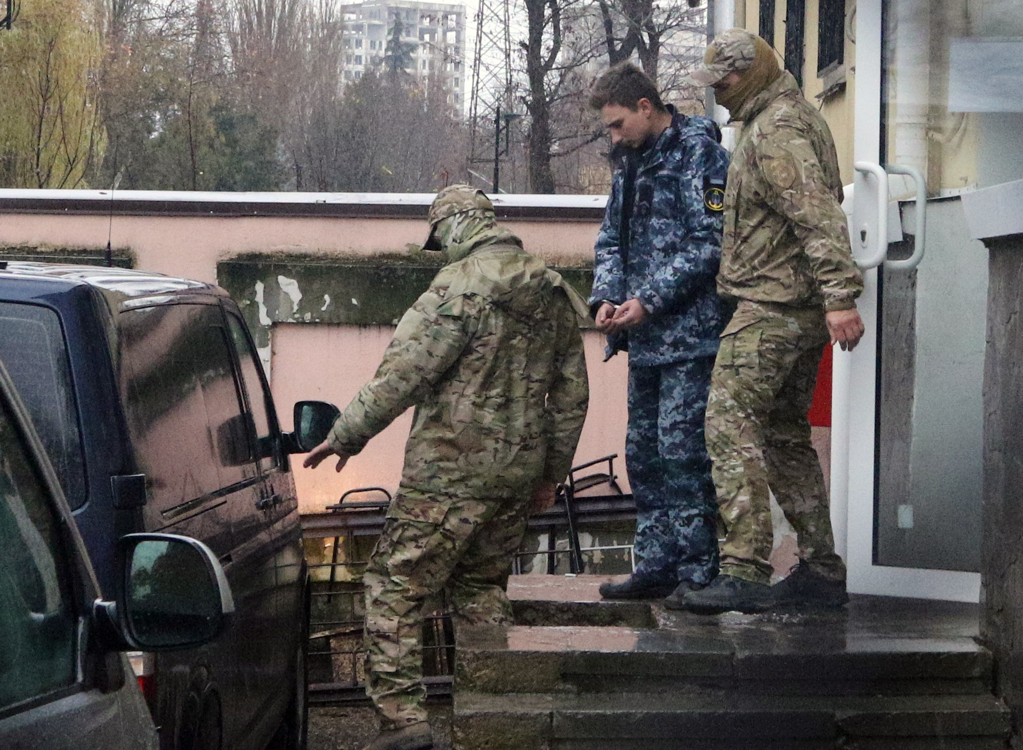 UKRAJINA 'Moskva je ilegalno zatočila ukrajinske mornare'