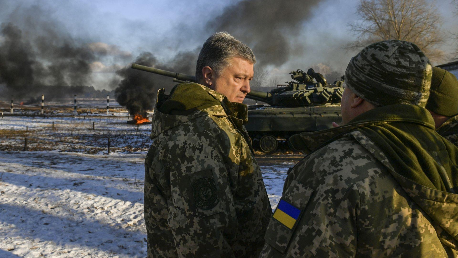 """POROŠENKO """"Putin želi cijelu moju zemlju"""""""