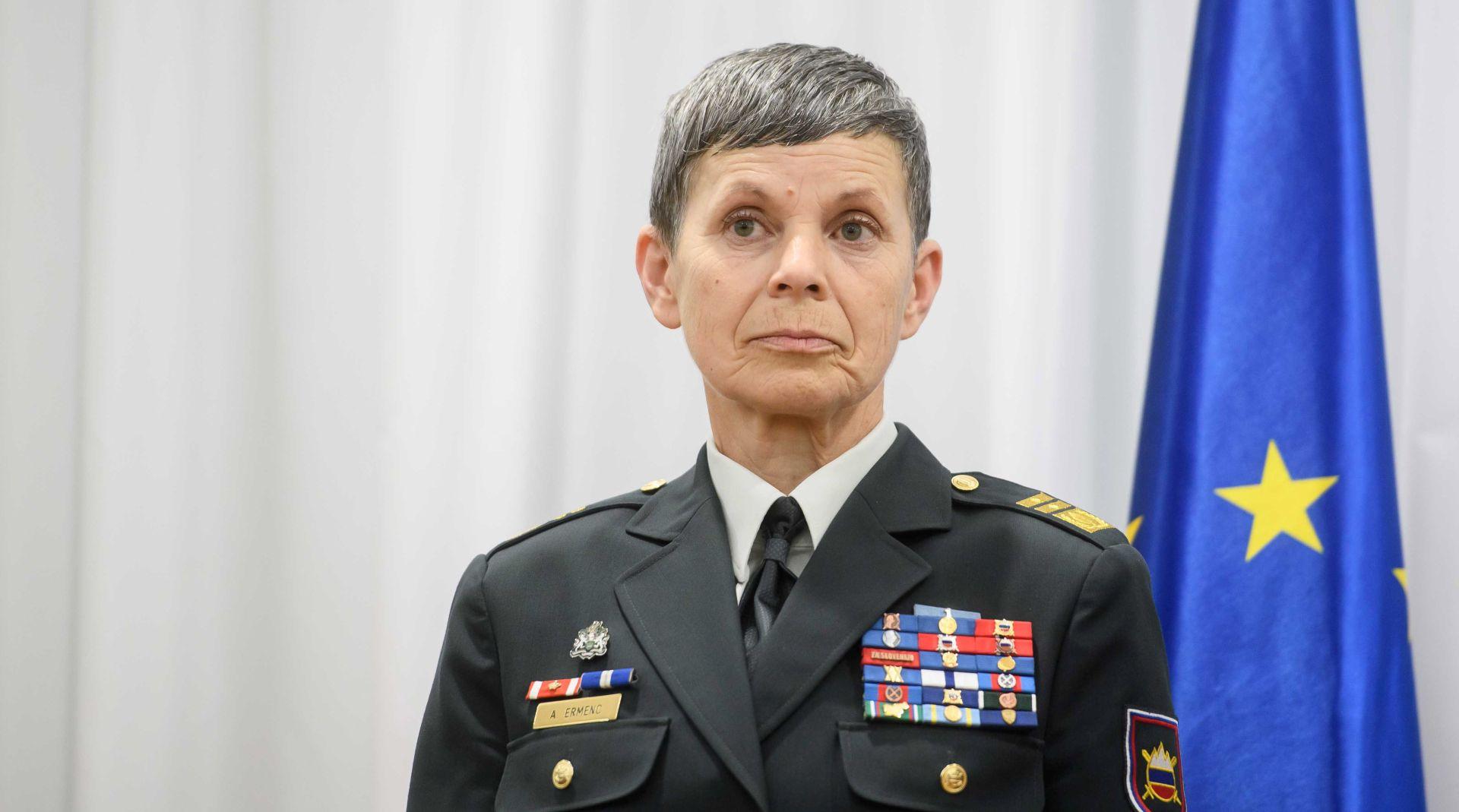 Nakon vojske i slovenska policija dobiva žensko zapovjedništvo