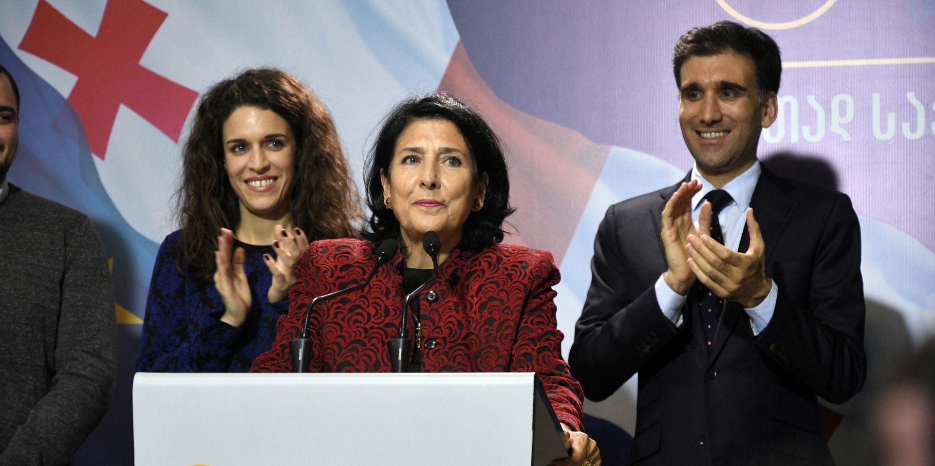 Gruzija izabrala prvu predsjednicu