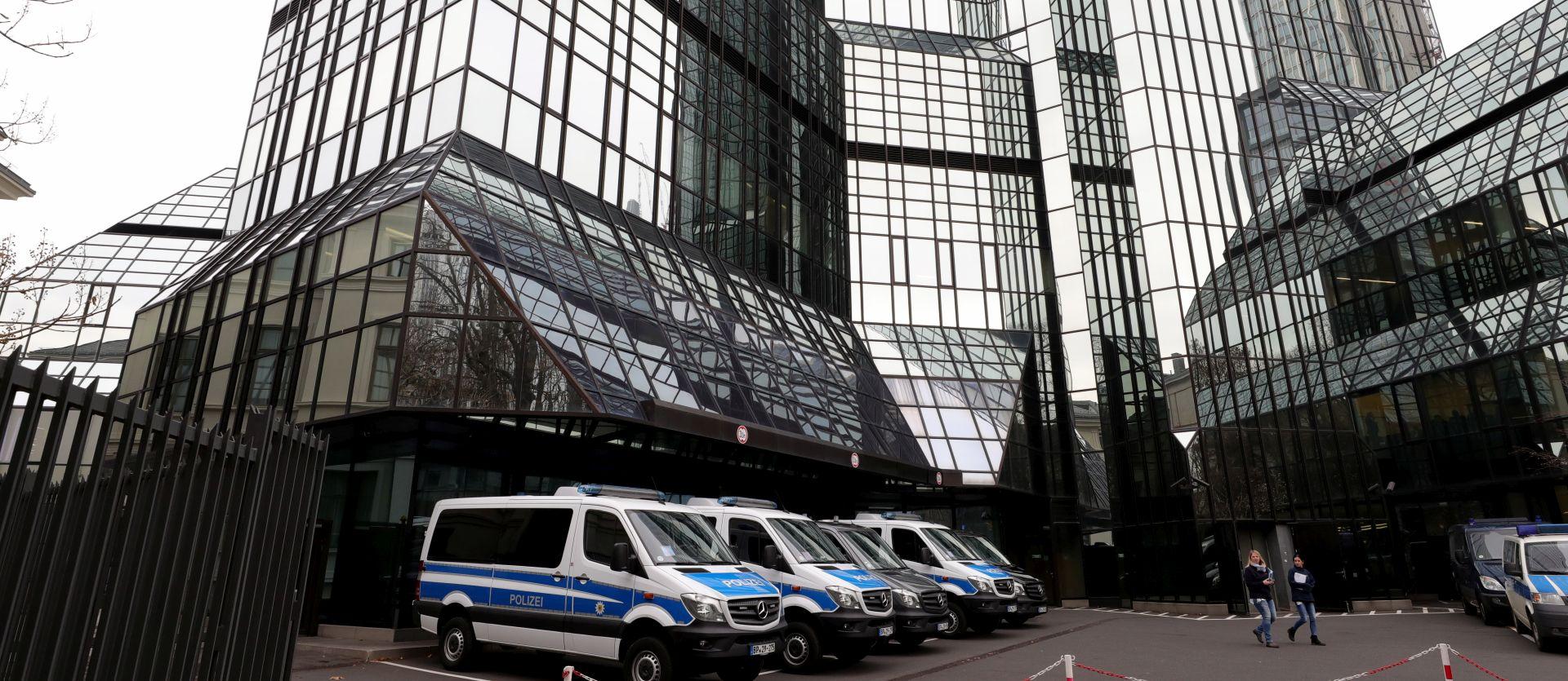 Policija upala u sjedište najveće njemačke banke