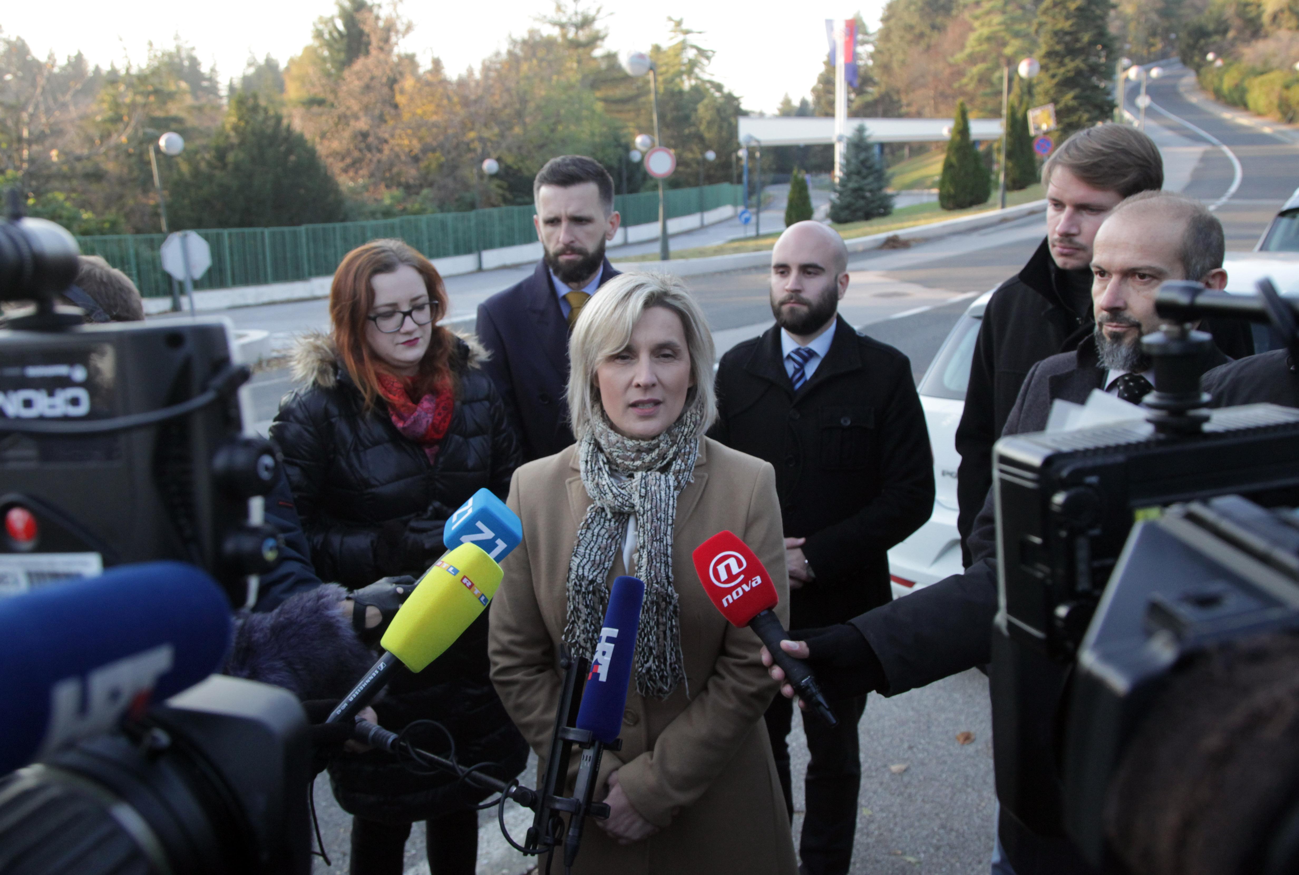 """Građanska inicijativa """"Narod odlučuje"""" komentirala sastanak s predsjednicom"""
