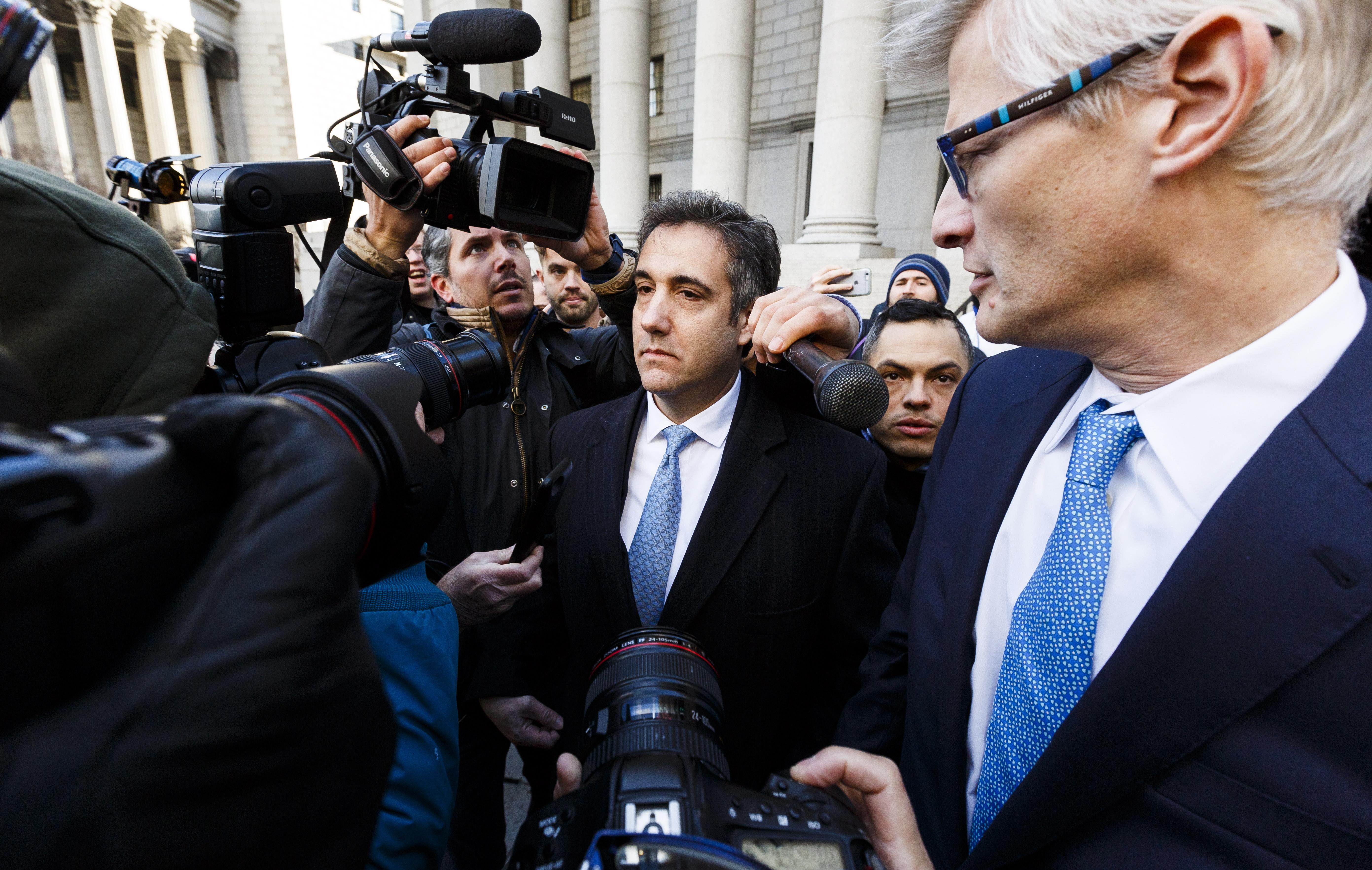 Bivši Trumpov odvjetnik Cohen priznao da je lagao Kongresu