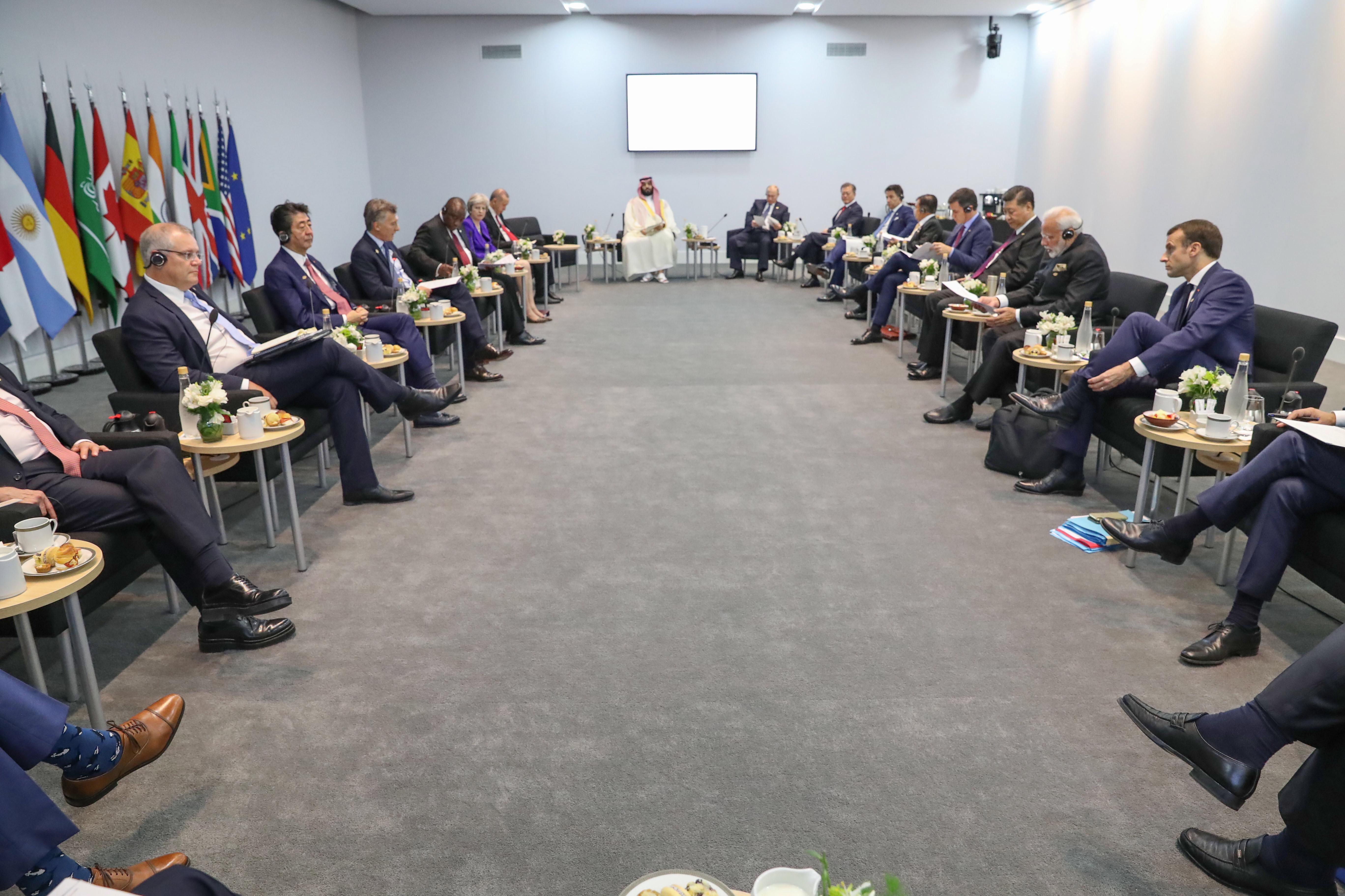 Službeno počeo summit G20 u Argentini