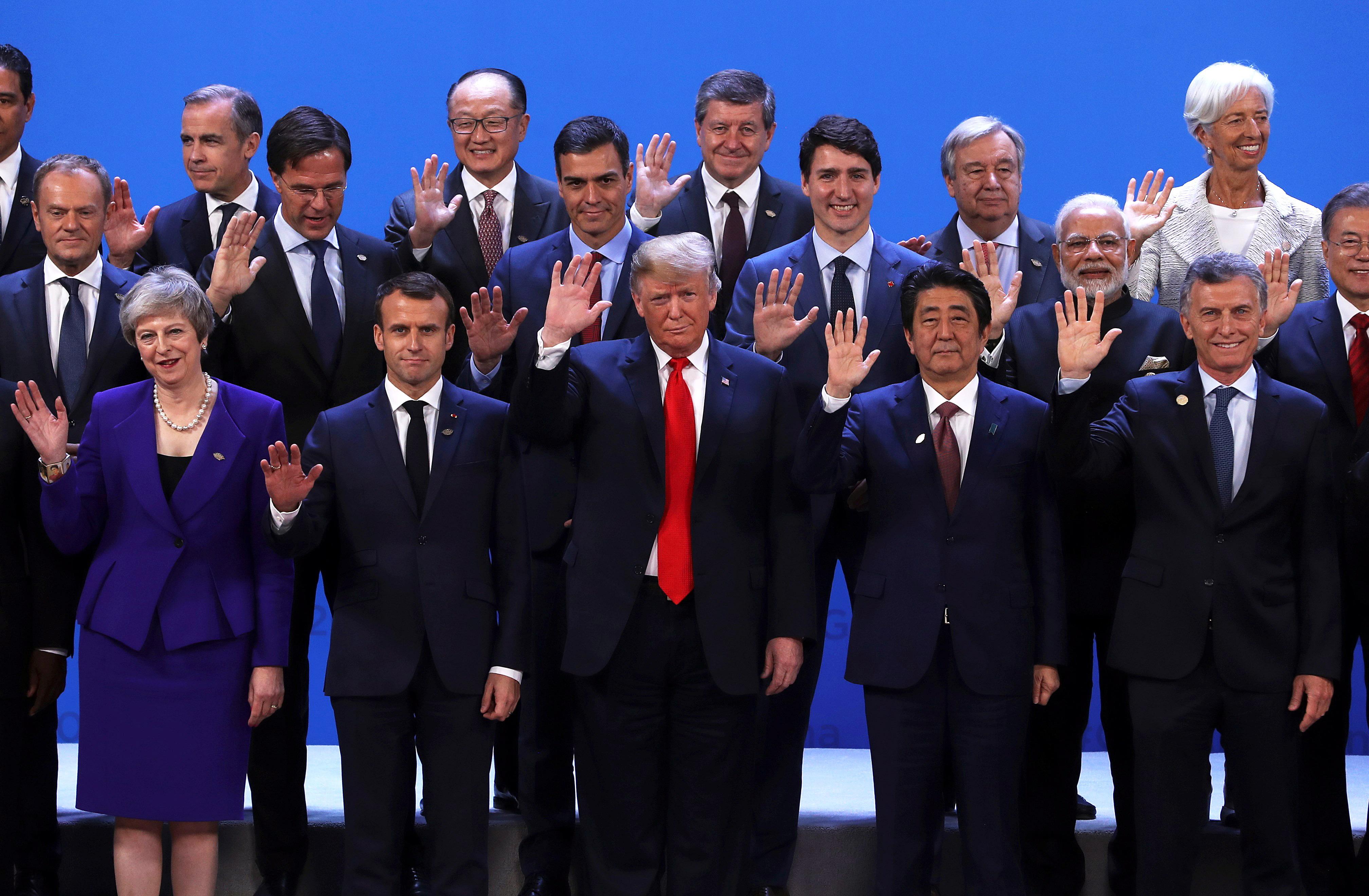 Saudijski prijestolonasljednik ostao po strani na fotografiji G20