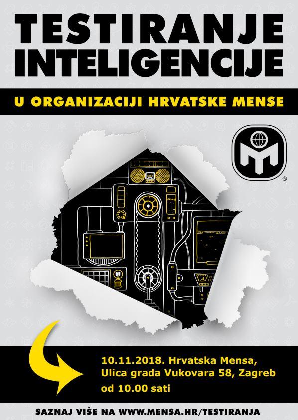 Hrvatska Mensa organizira testiranje inteligencije