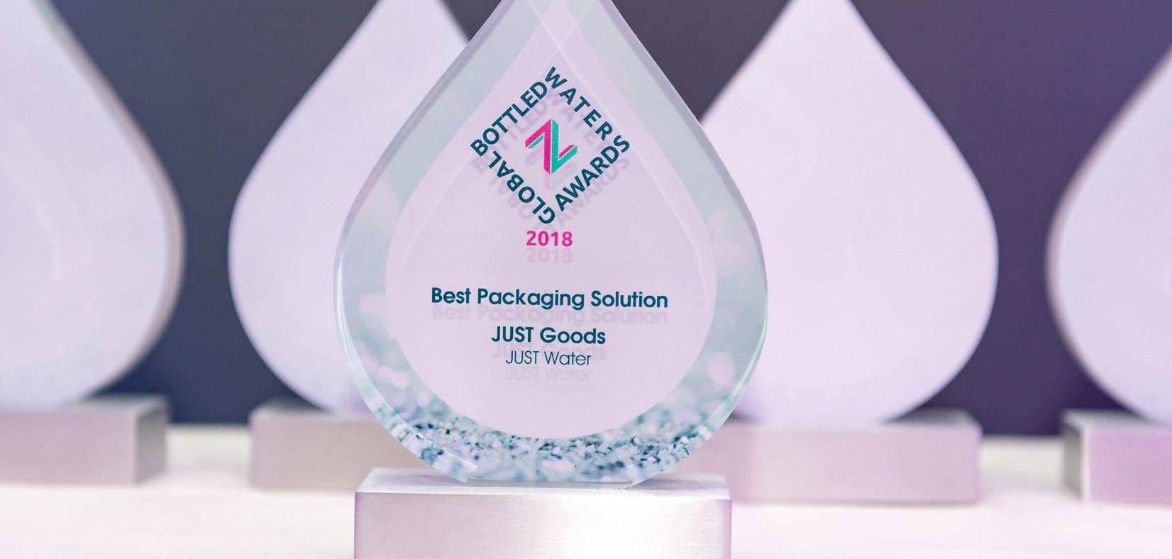 JUST Water u Tetra Pak ambalaži osvojio nagradu za najbolje pakiranje