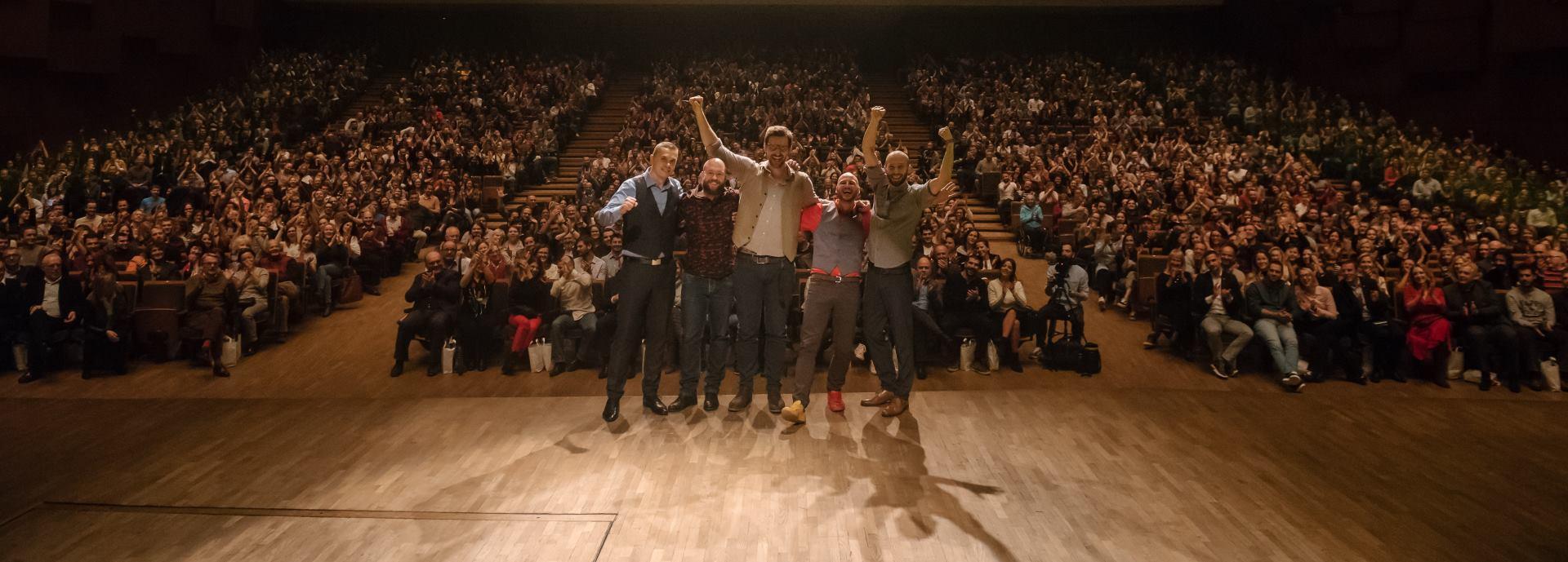 Humanitarnim nastupom za stipendiranje mladih LAJNAP Comedy oduševio KD Lisinski
