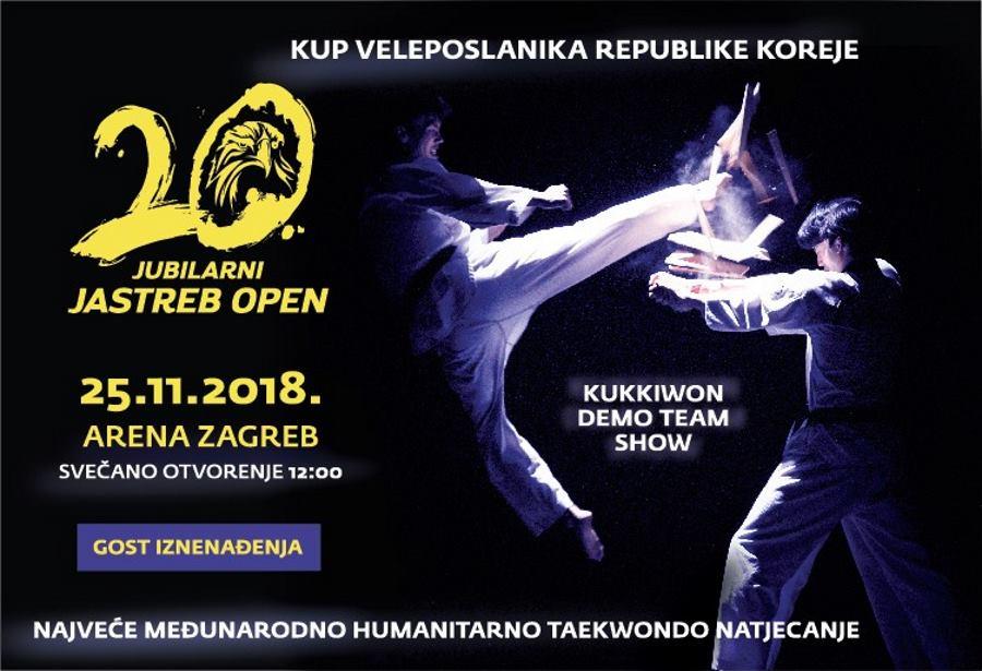 Taekwondo spektakl i natjecanje s humanitarnim ciljem u Areni Zagreb