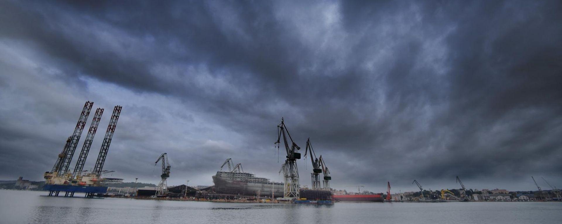 Domino-efekt gospodarstva ako propadnu brodogradilišta