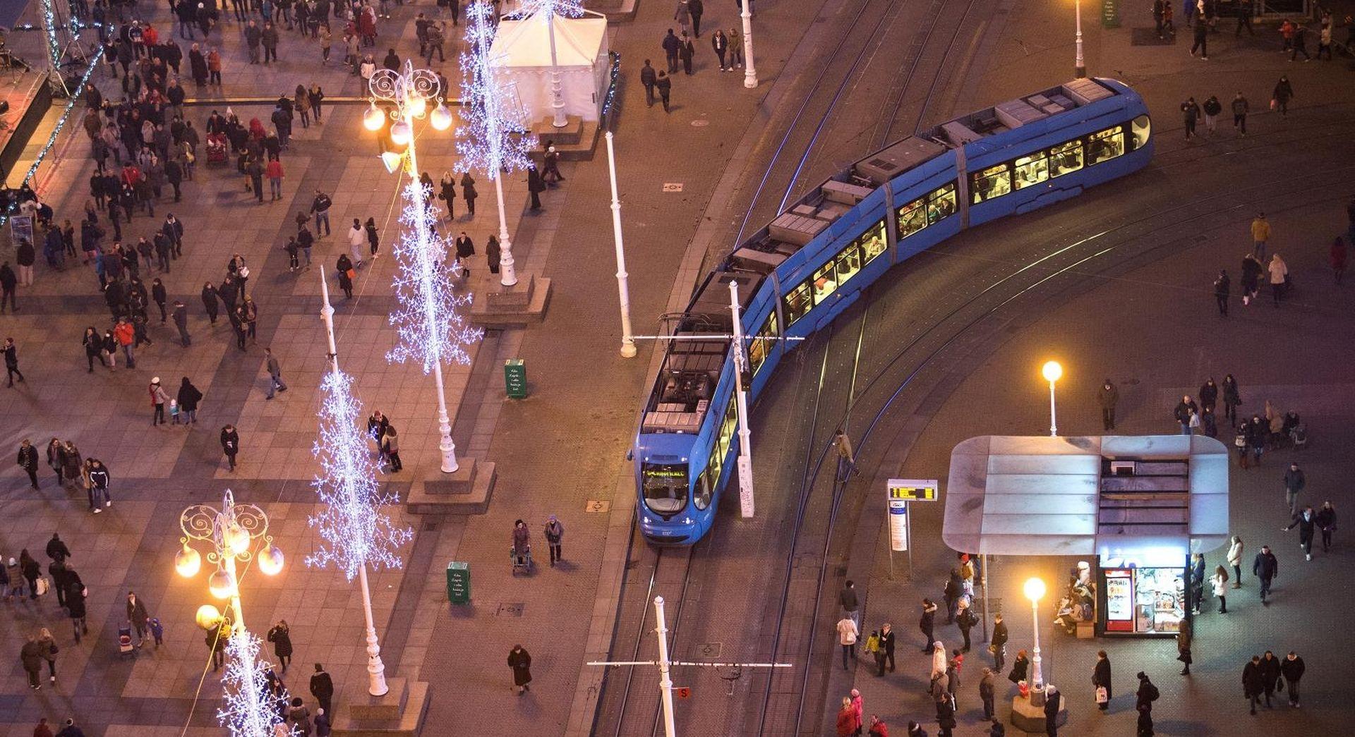 ADVENT U ZAGREBU Vikendom besplatan prijevoz ZET-om