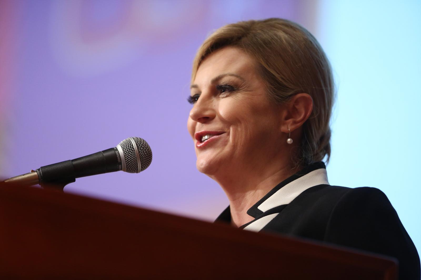 Predsjednica otputovala u Berlin na kongres Sueddeutsche Zeitunga