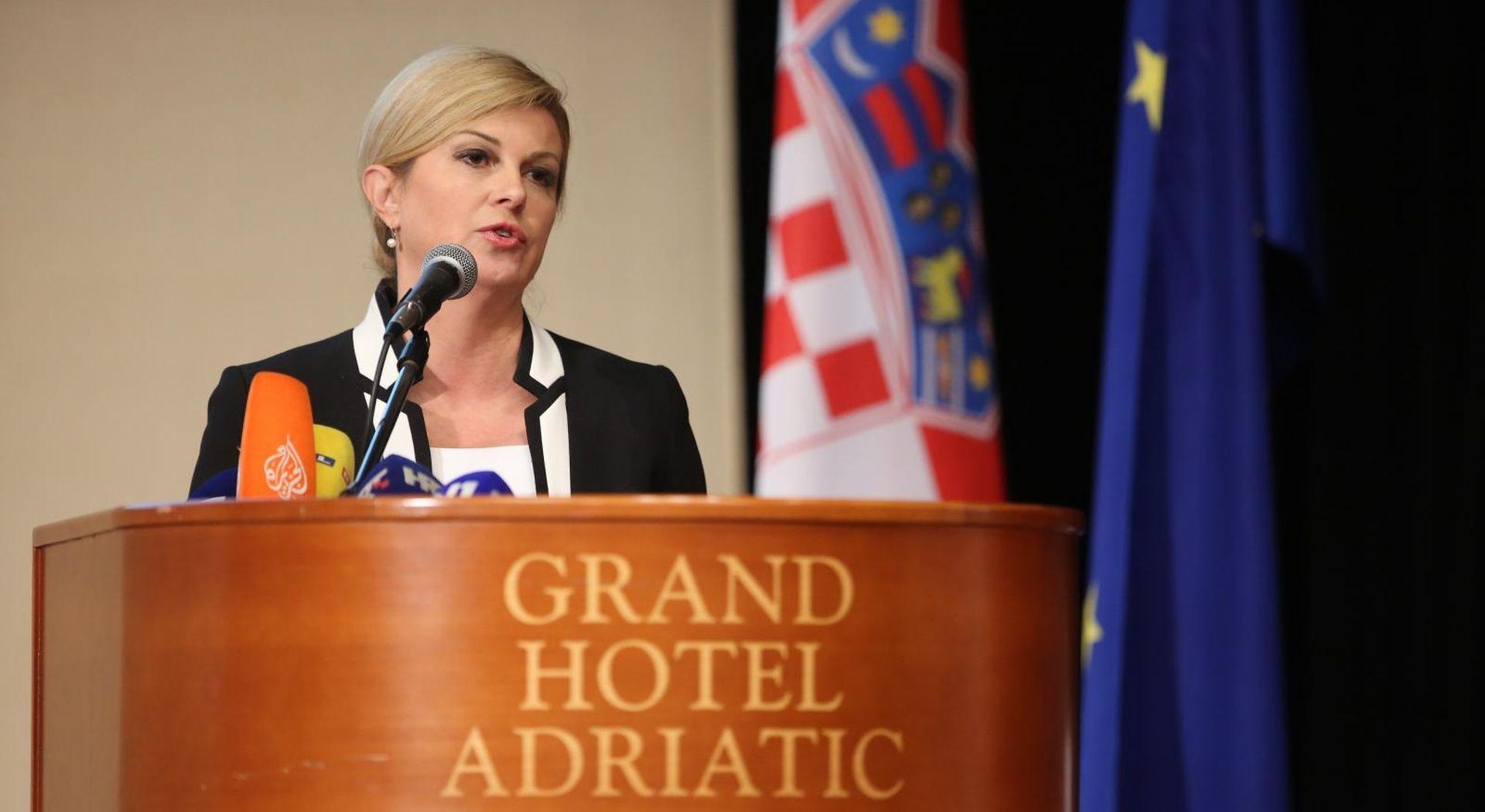 Predsjednica pohvalila Vladine reformske mjere i upozorila na probleme