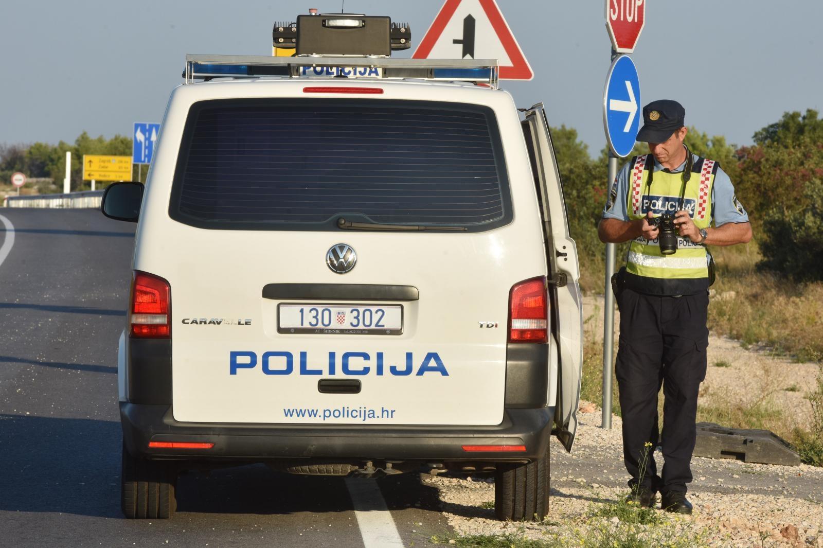 ŠIBENIK U prometnoj nesreći na Jadranskoj magistrali poginula jedna osoba