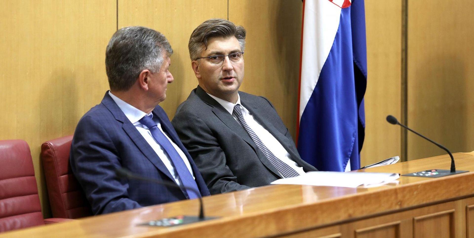 AKTUALAC U SABORU Premijer i ministri odgovaraju na zastupnička pitanja