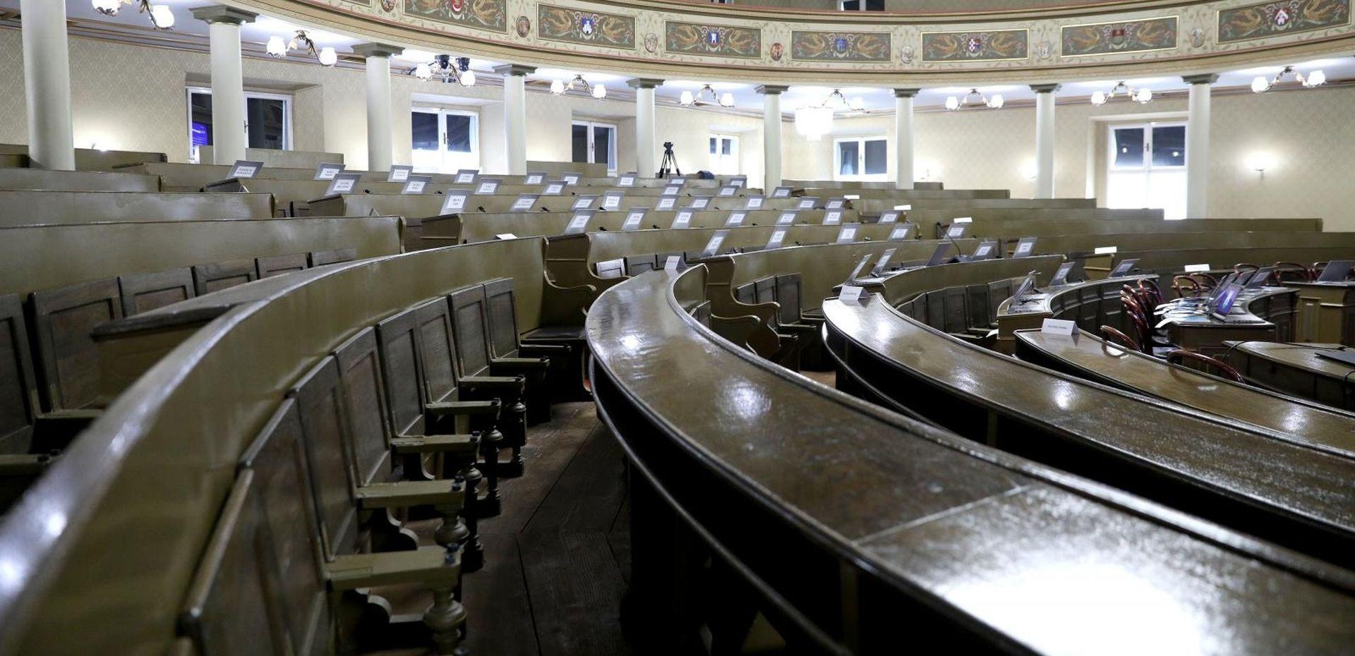 Skupština za pola sata završila sjednicu