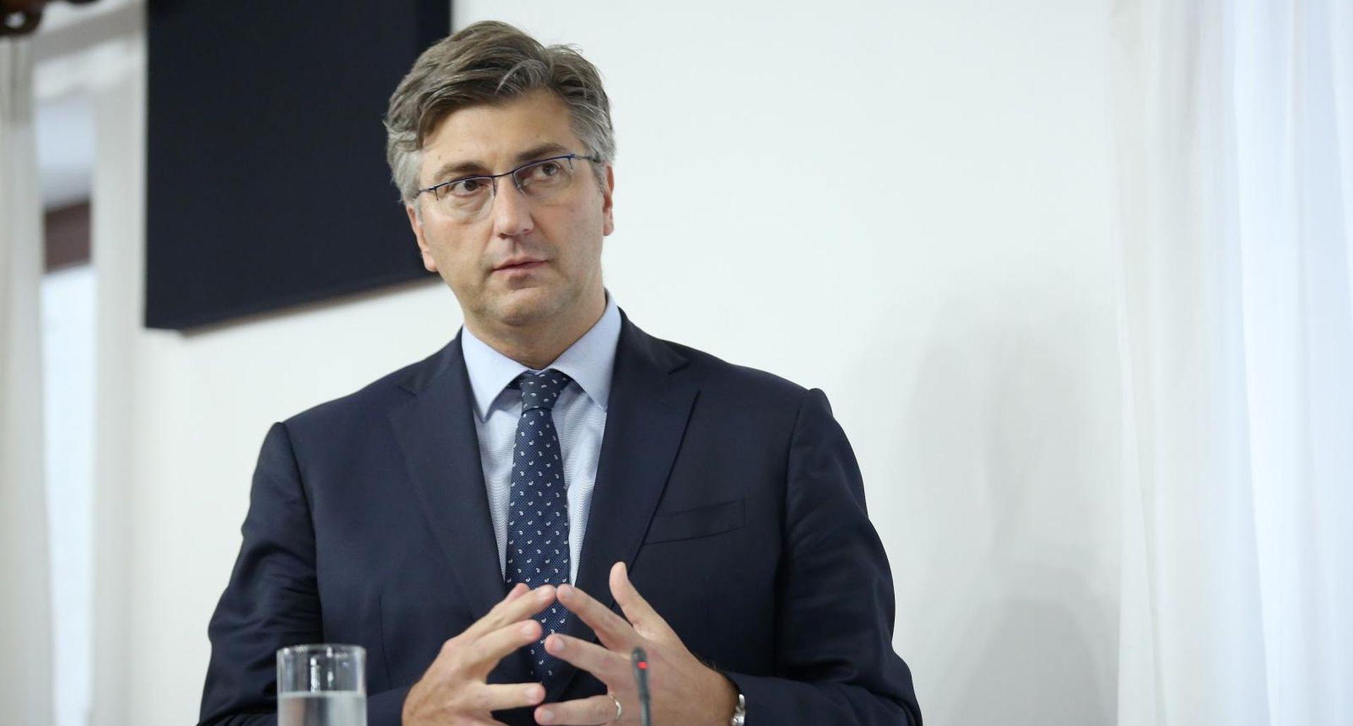 Plenković pozvao na jačanje gospodarske suradnje s Kinom
