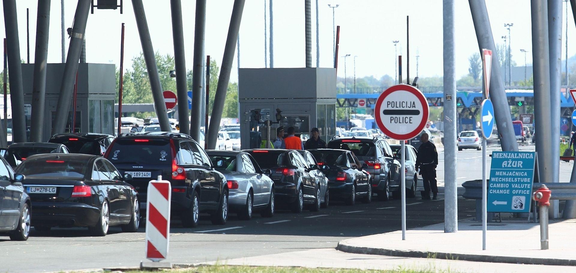 Slovenska policija zaoštrava štrajk na dva prijelaza s Hrvatskom
