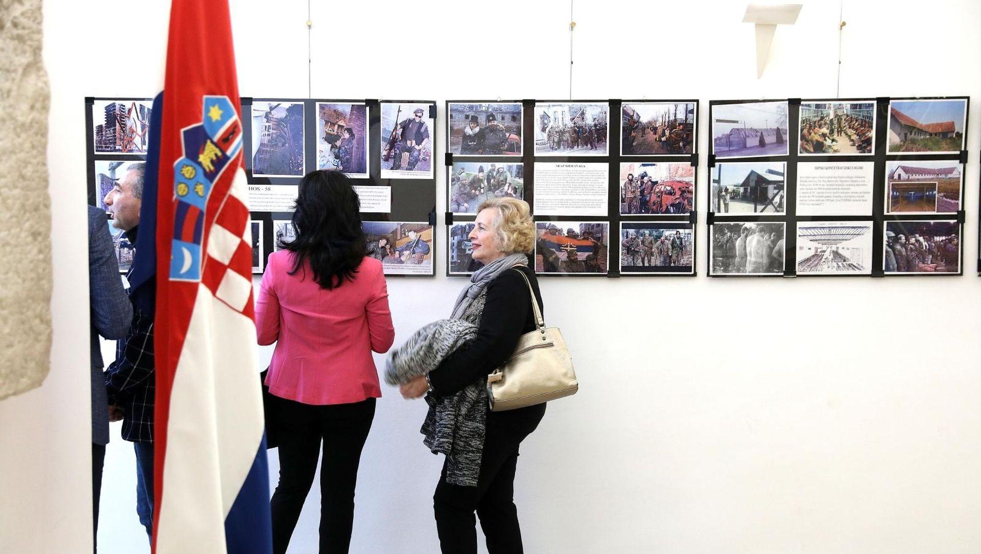"""U Saboru izložba """"Da se ne zaboravi Vukovar"""""""