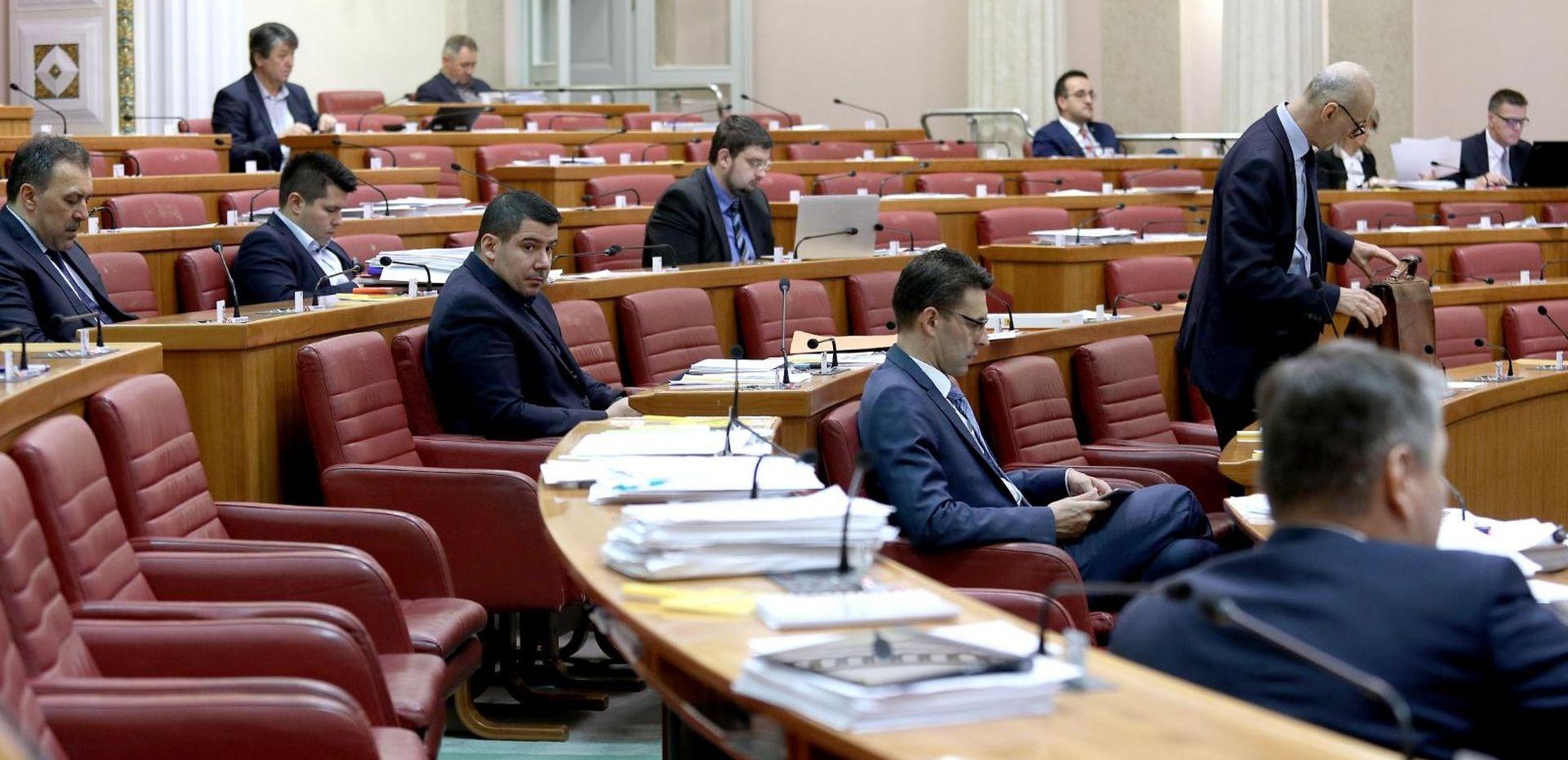 Sabor raspravlja o prijedlogu proračuna za 2019.