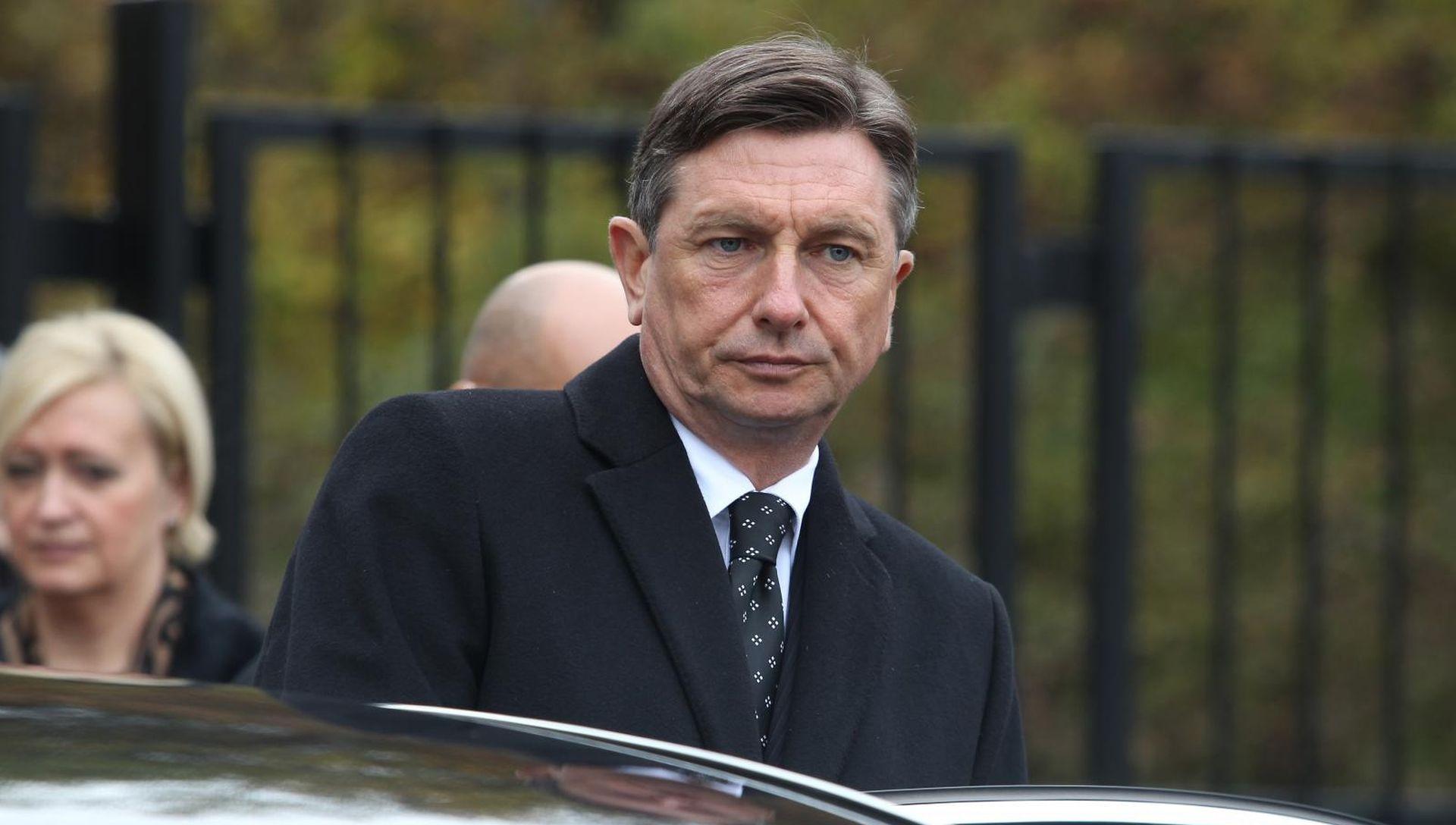 Pahor podsjetio na obljetnicu arbitražnog sporazuma