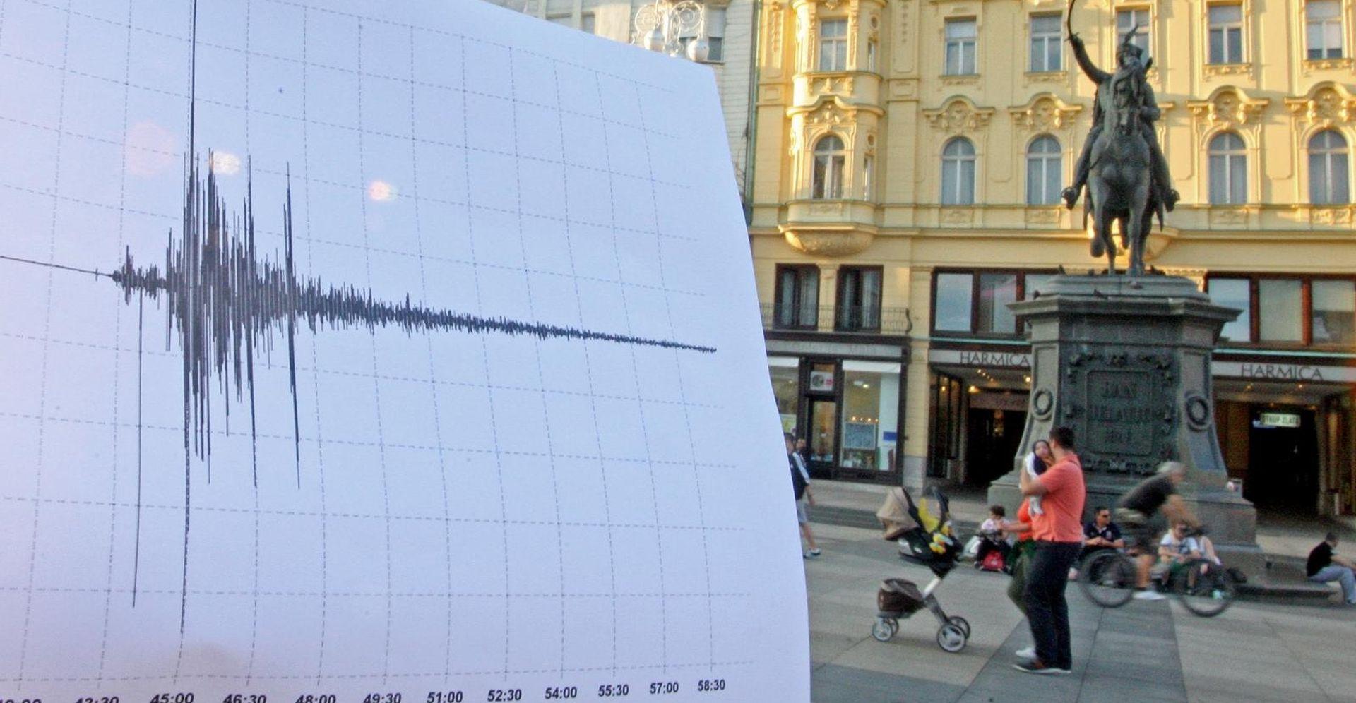 Novi potres kod Zagreba, epicentar kod Markovog polja