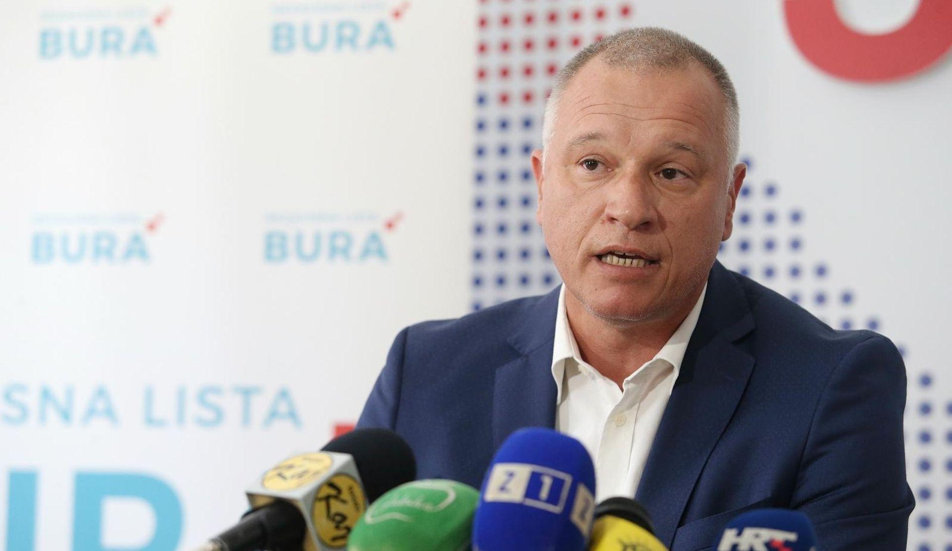 """BURIĆ """"Najodgovorniji za 3. maj su IDS, Končar i uprava Uljanika"""""""