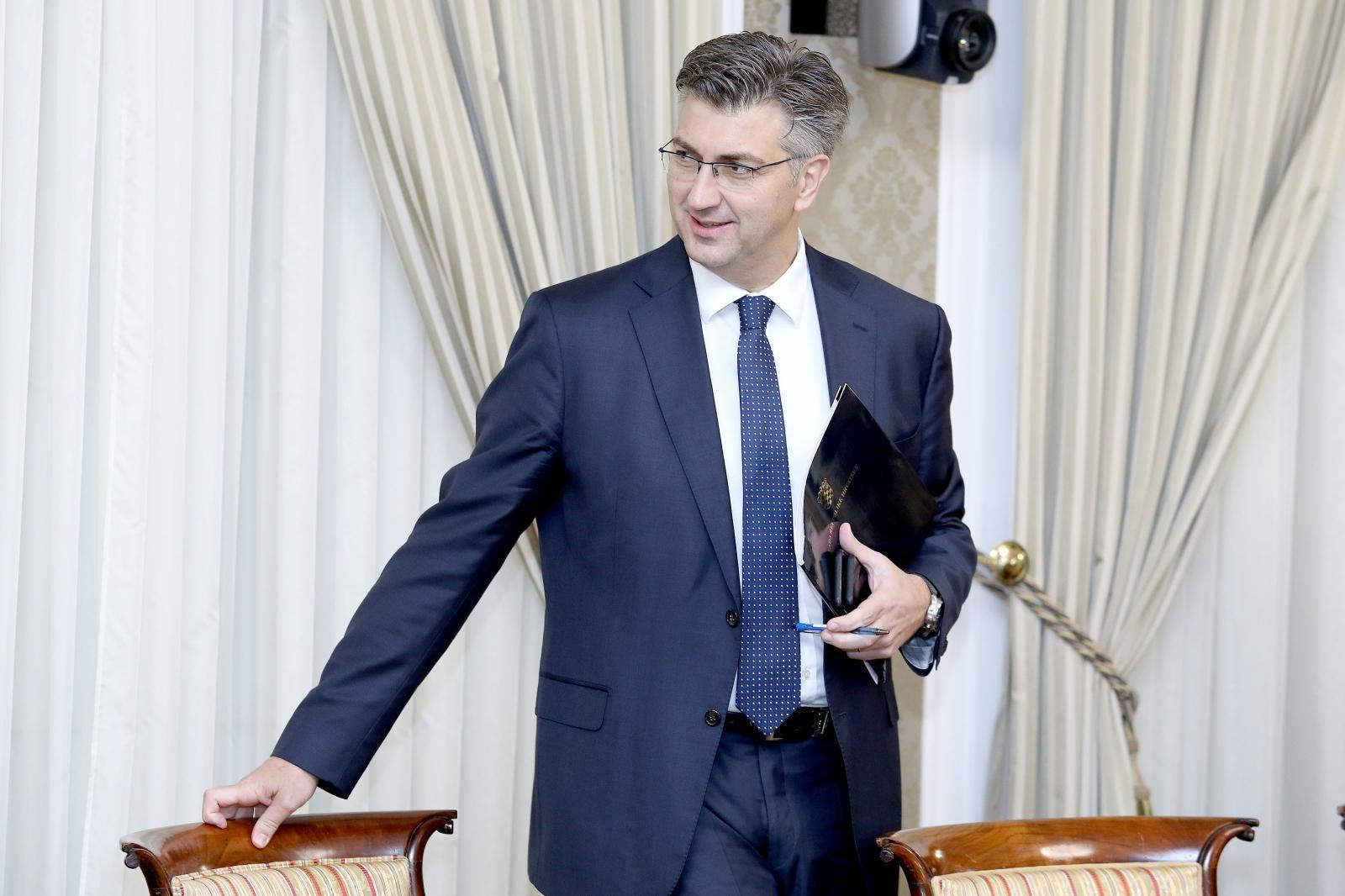 Plenković zadovoljan EK-ovim prognozama rasta hrvatskog gospodarstva